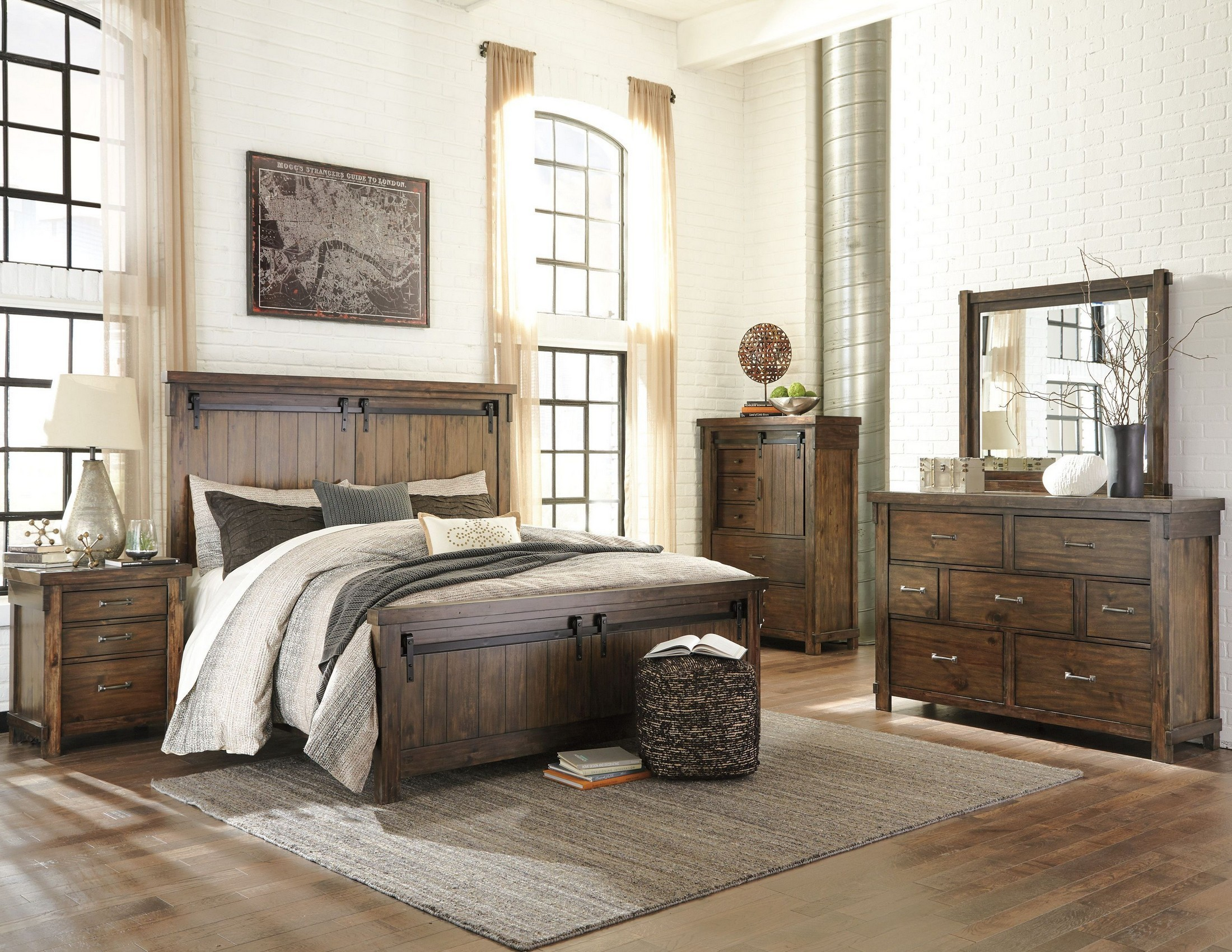 Lakeleigh Brown Panel Bedroom Set From Ashley