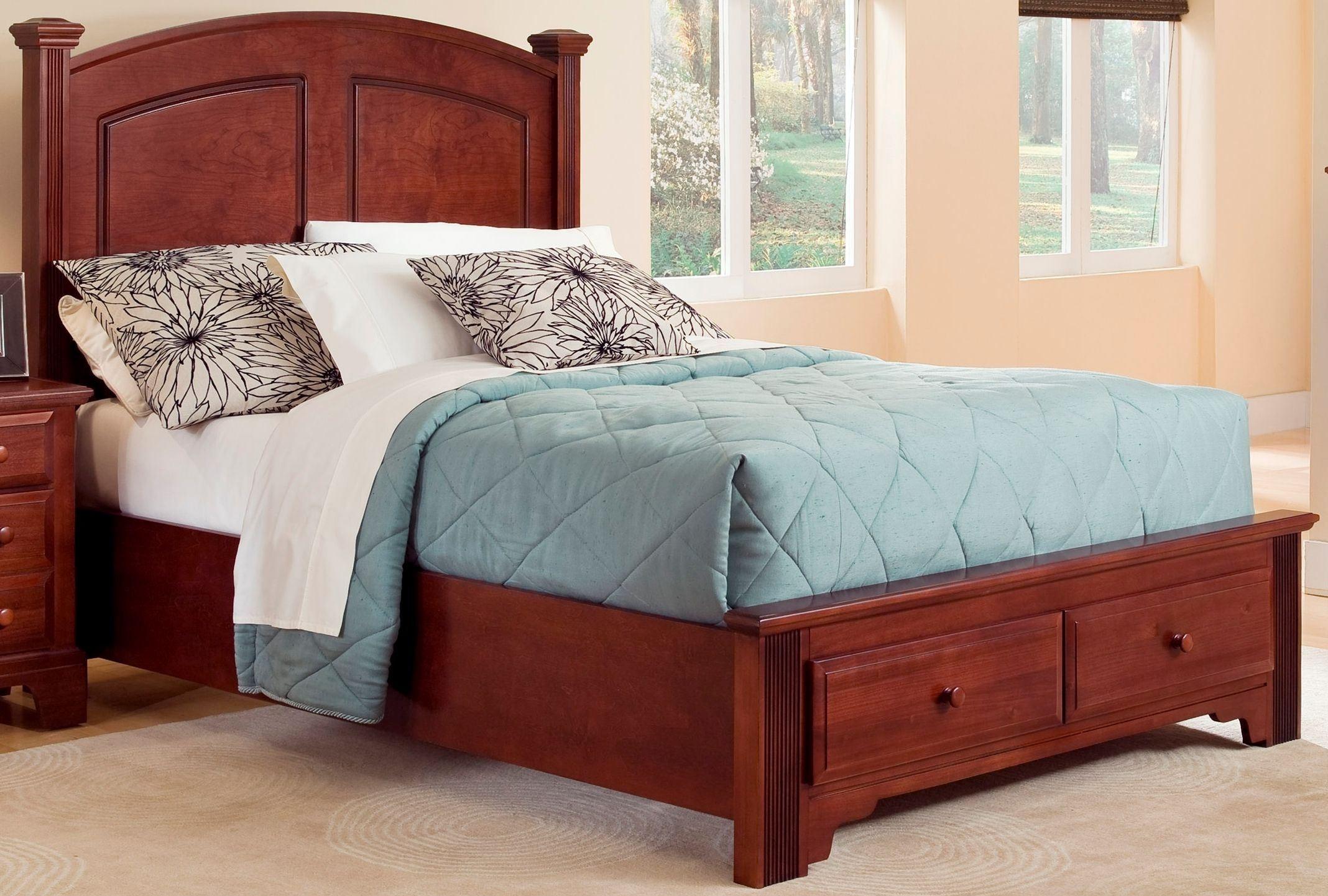 Hamilton Franklin Cherry Youth Panel Storage Bedroom Set BB5 338 033B 302 33