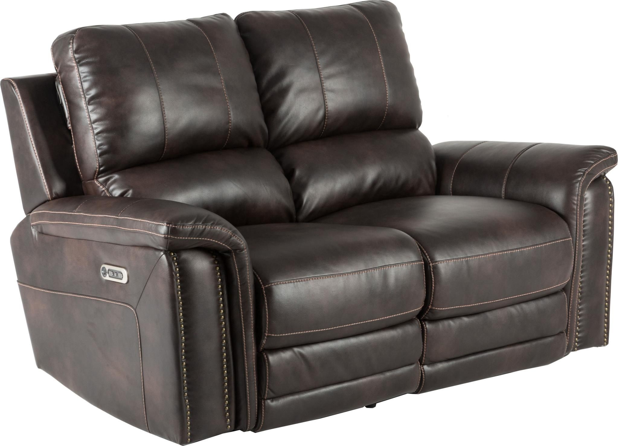 Belize Cafe Dual Power Reclining Loveseat From Parker Living Coleman Furniture