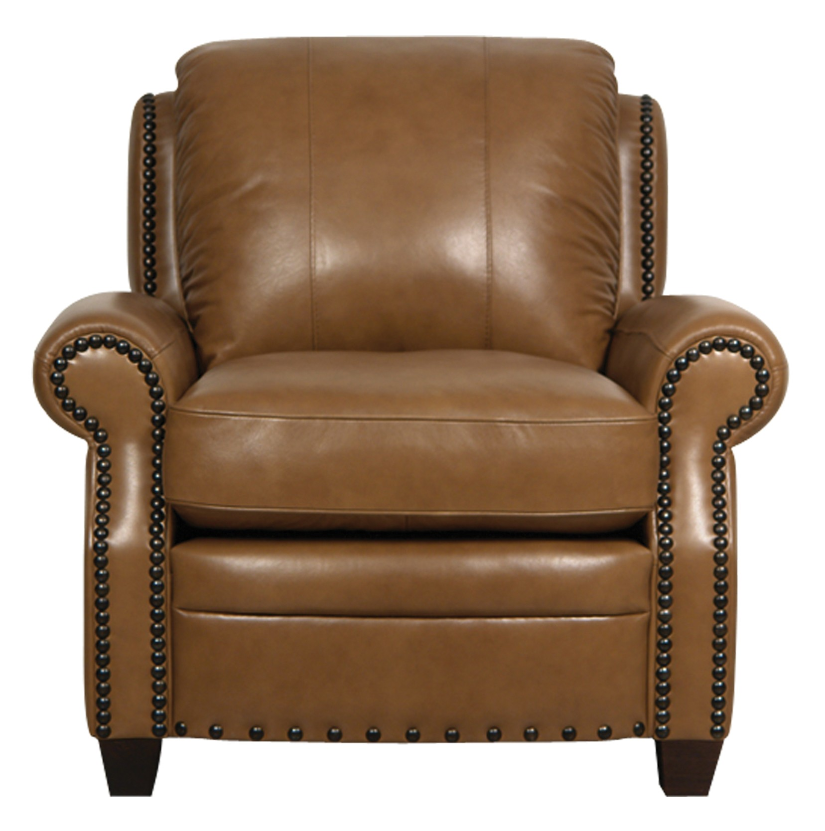 Bennett italian leather chair from luke leather coleman for Italian leather furniture