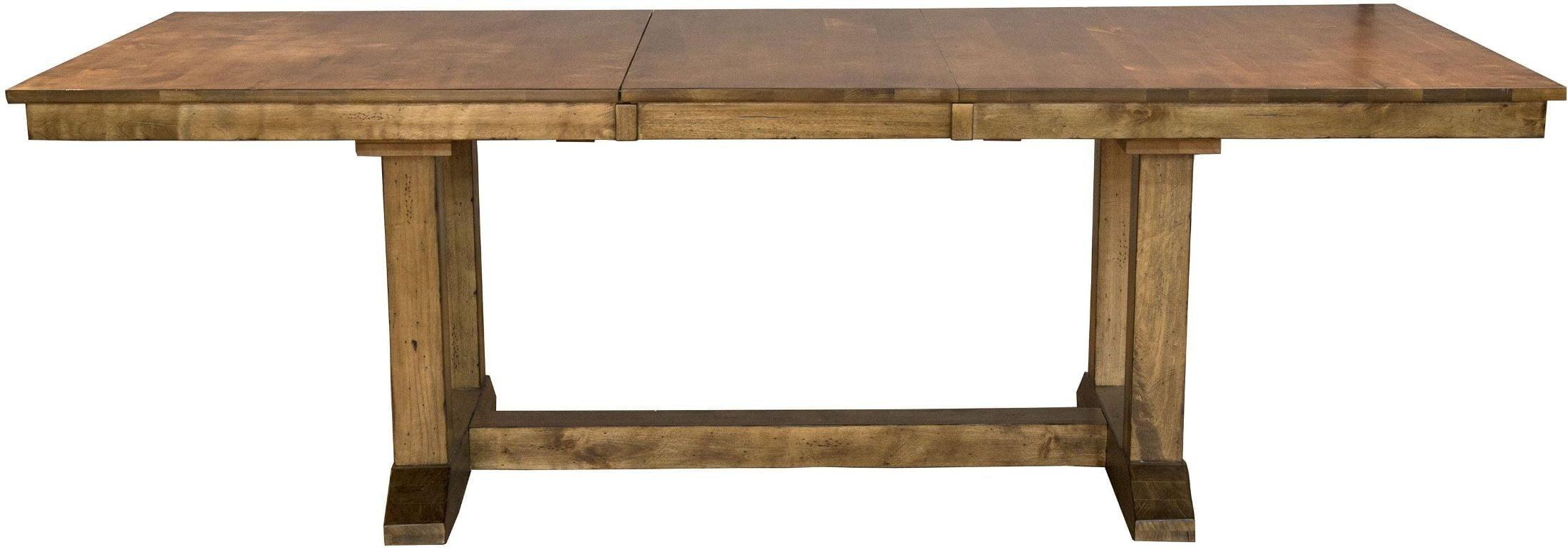 bennett smoky quartz extendable rectangular trestle dining table from a america coleman furniture. Black Bedroom Furniture Sets. Home Design Ideas