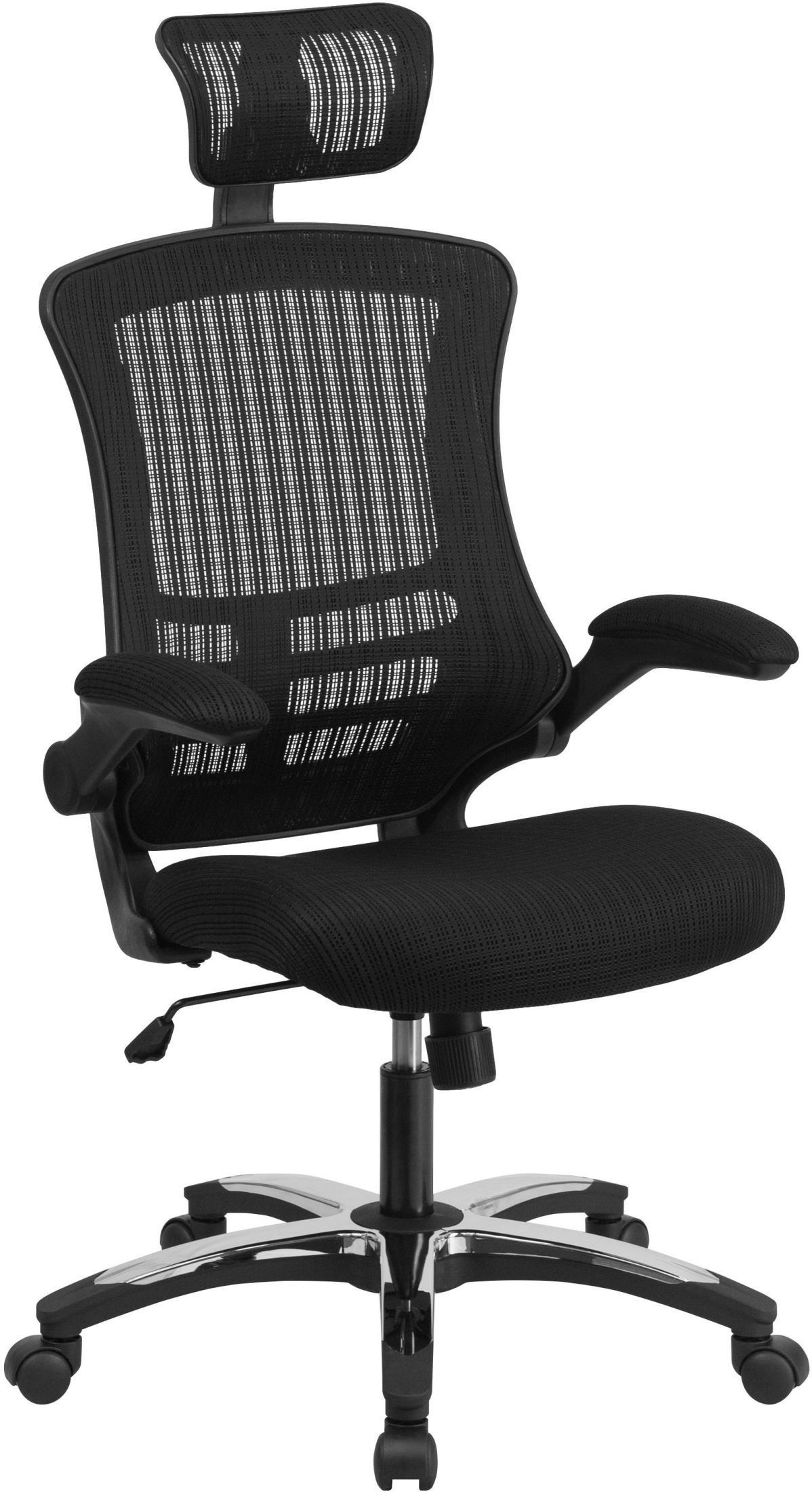 31782 high back black executive swivel office chair from for Swivel chairs for office