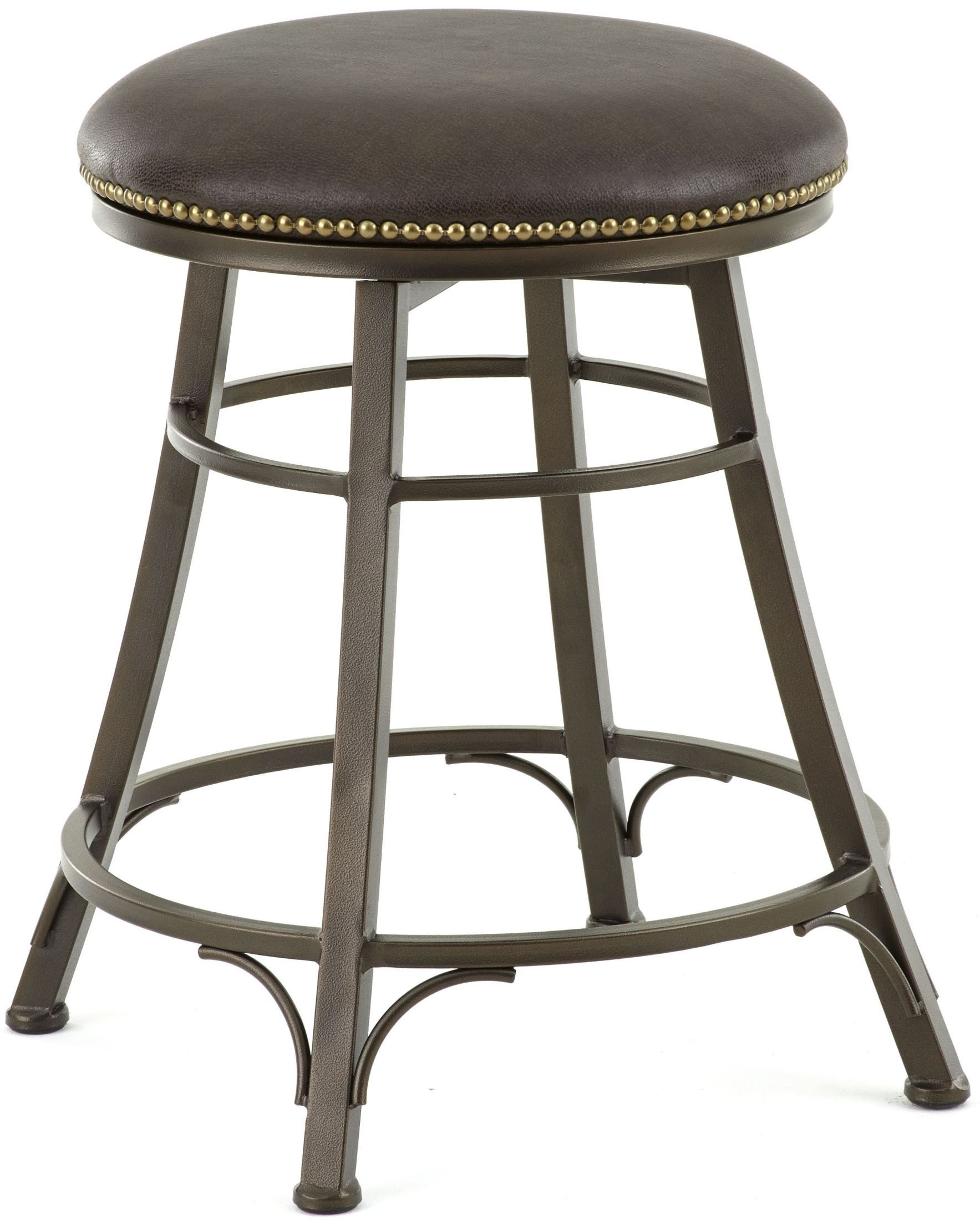 leather counter stools backless bali bonded leather backless swivel counter stool from 6890