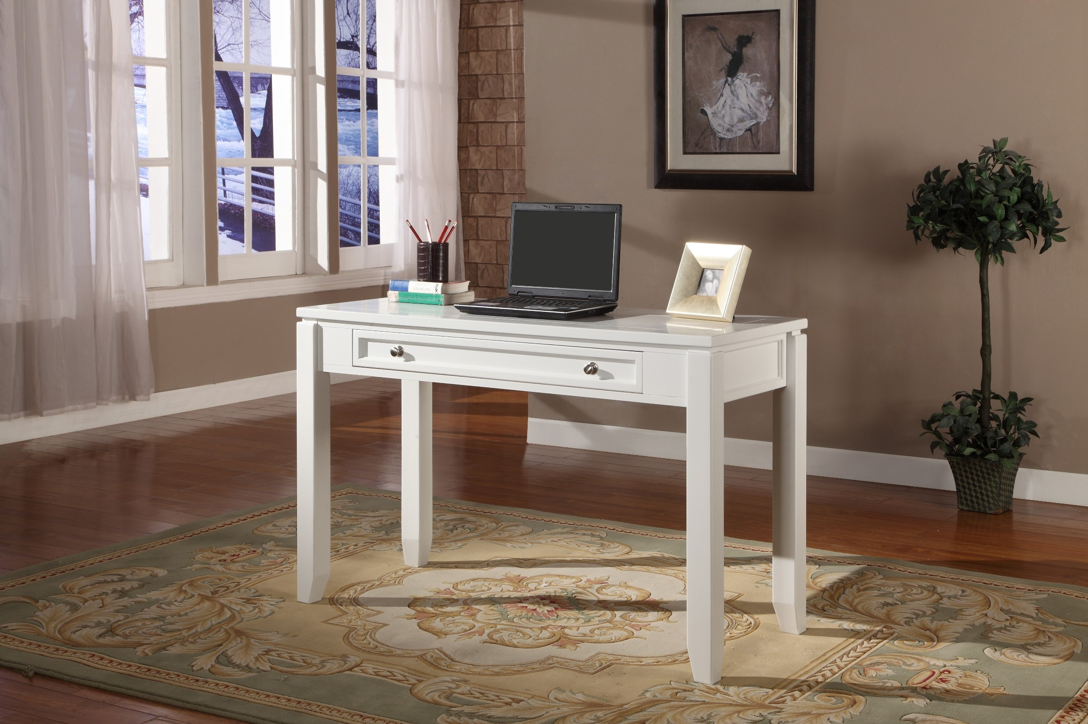 Boca L-Shape Credenza Home Office Set from Parker House (BOC-347C ...