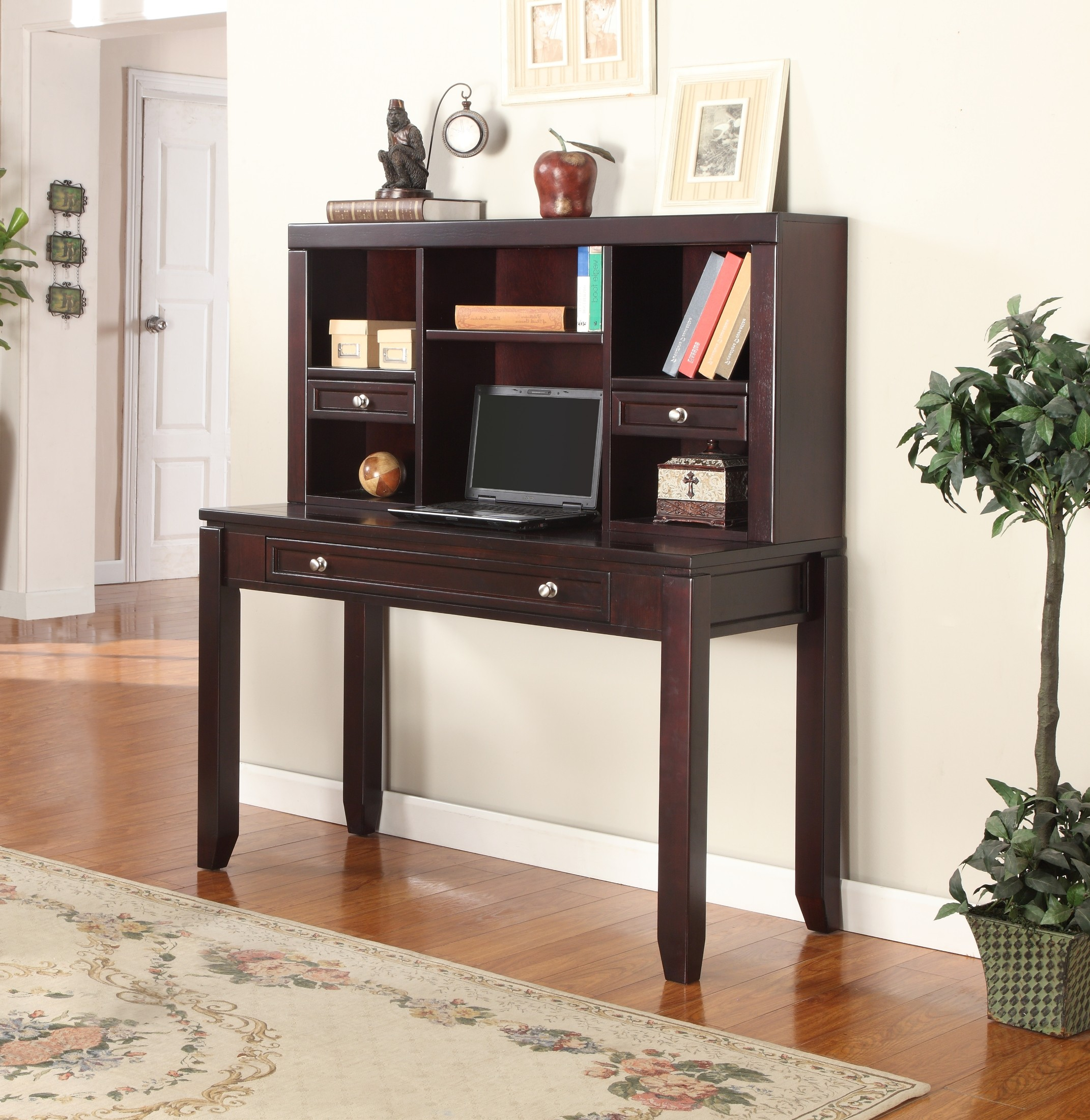 Boston quot writing desk with hutch from parker house bos