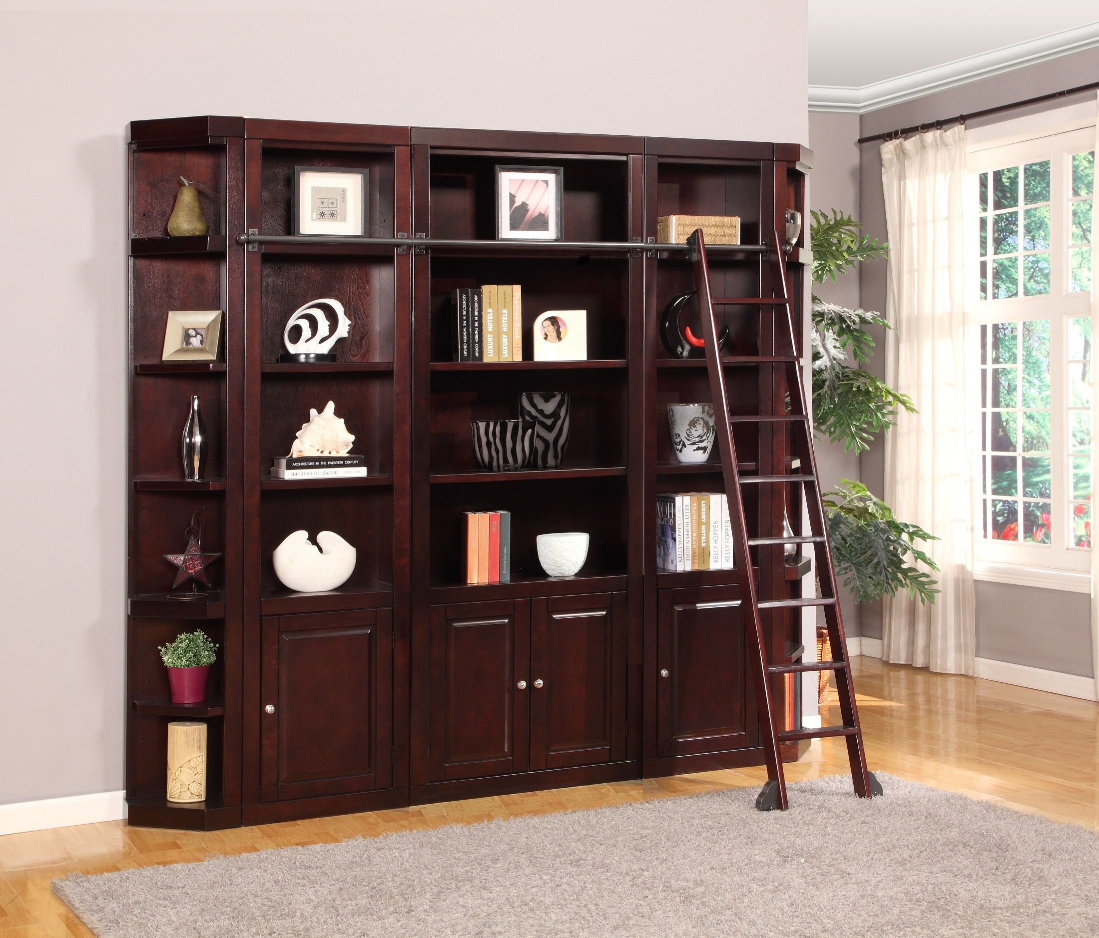 Boston 5 Piece Wall Unit From Parker House Coleman Furniture