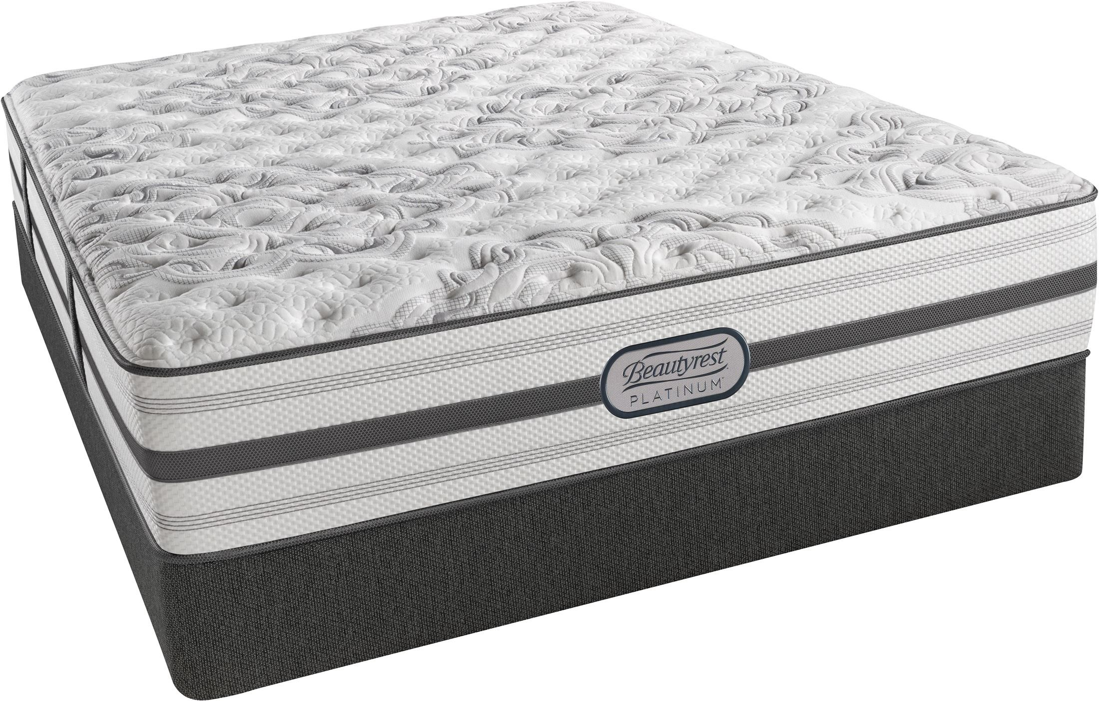 Beautyrest Recharge Platinum Abracadabra Tight Top Extra Firm Cal King Size Mattress From