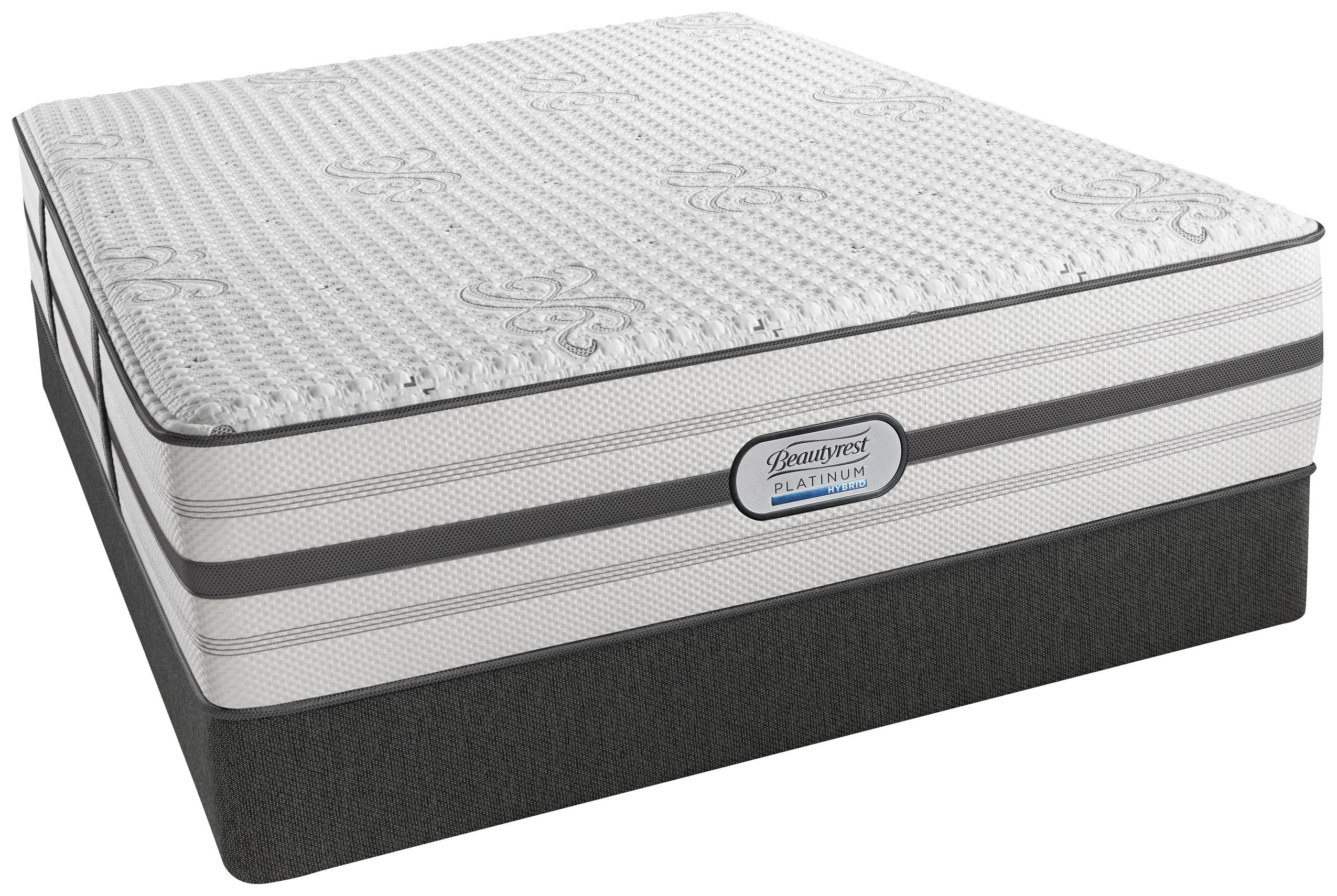 Br Hybrid Platinum Ariane Tight Top Luxury Firm King Size Mattress With Foundation From Simmons