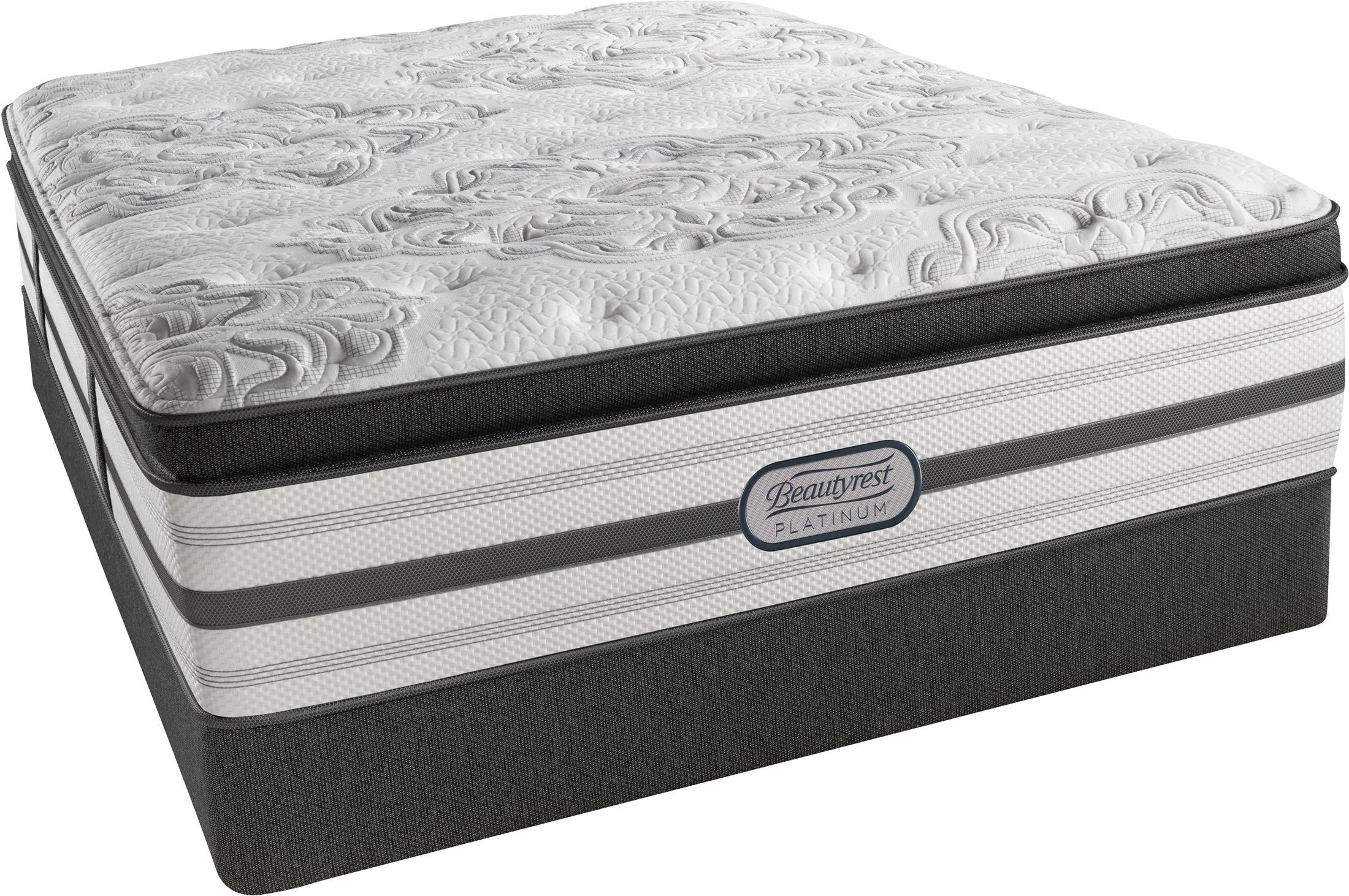Beautyrest Recharge Platinum Gatsby Pillow Top Plush Queen Size Mattress From Simmons Coleman