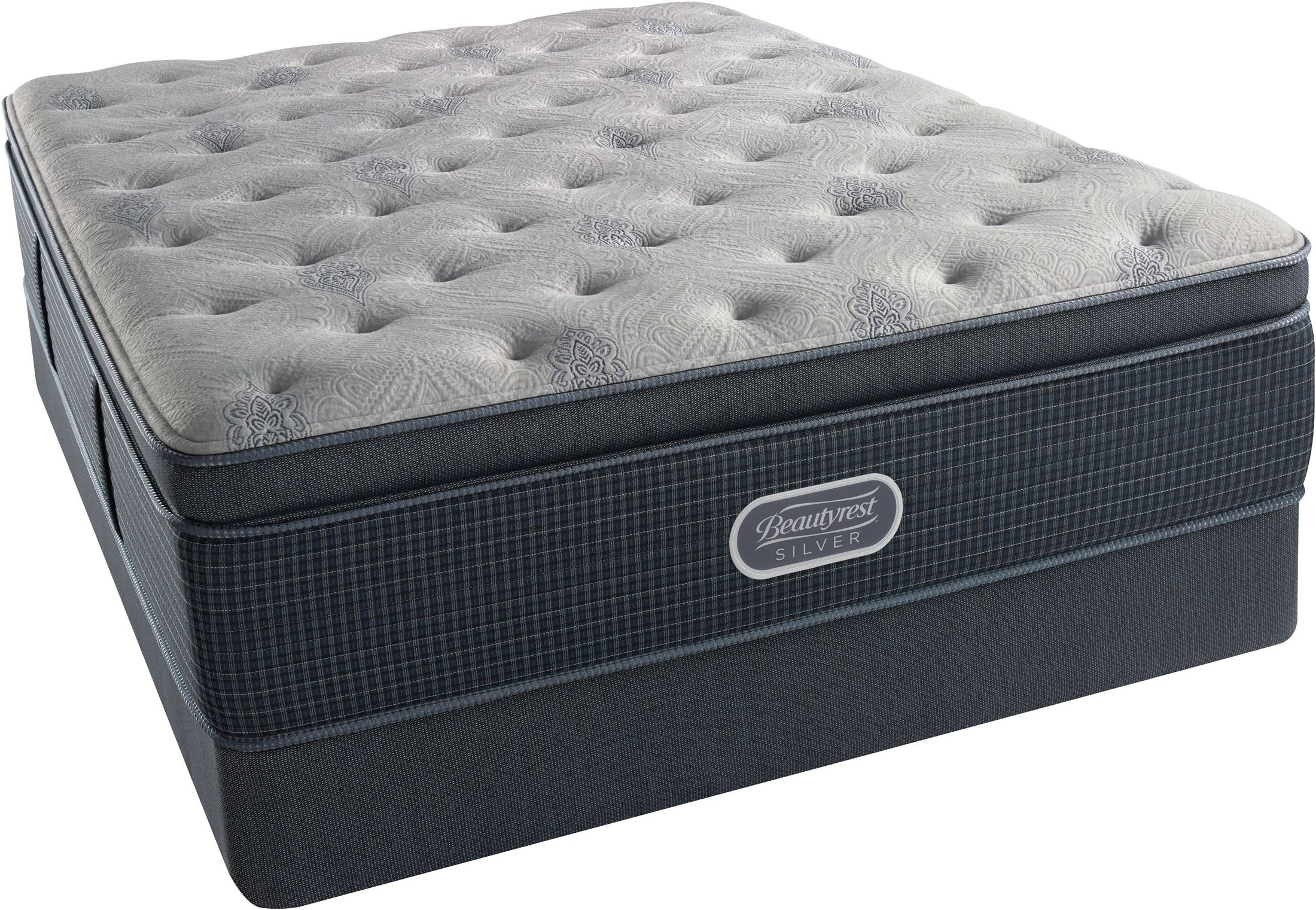Beautyrest Recharge Silver Luxury Firm Super Pillow Top