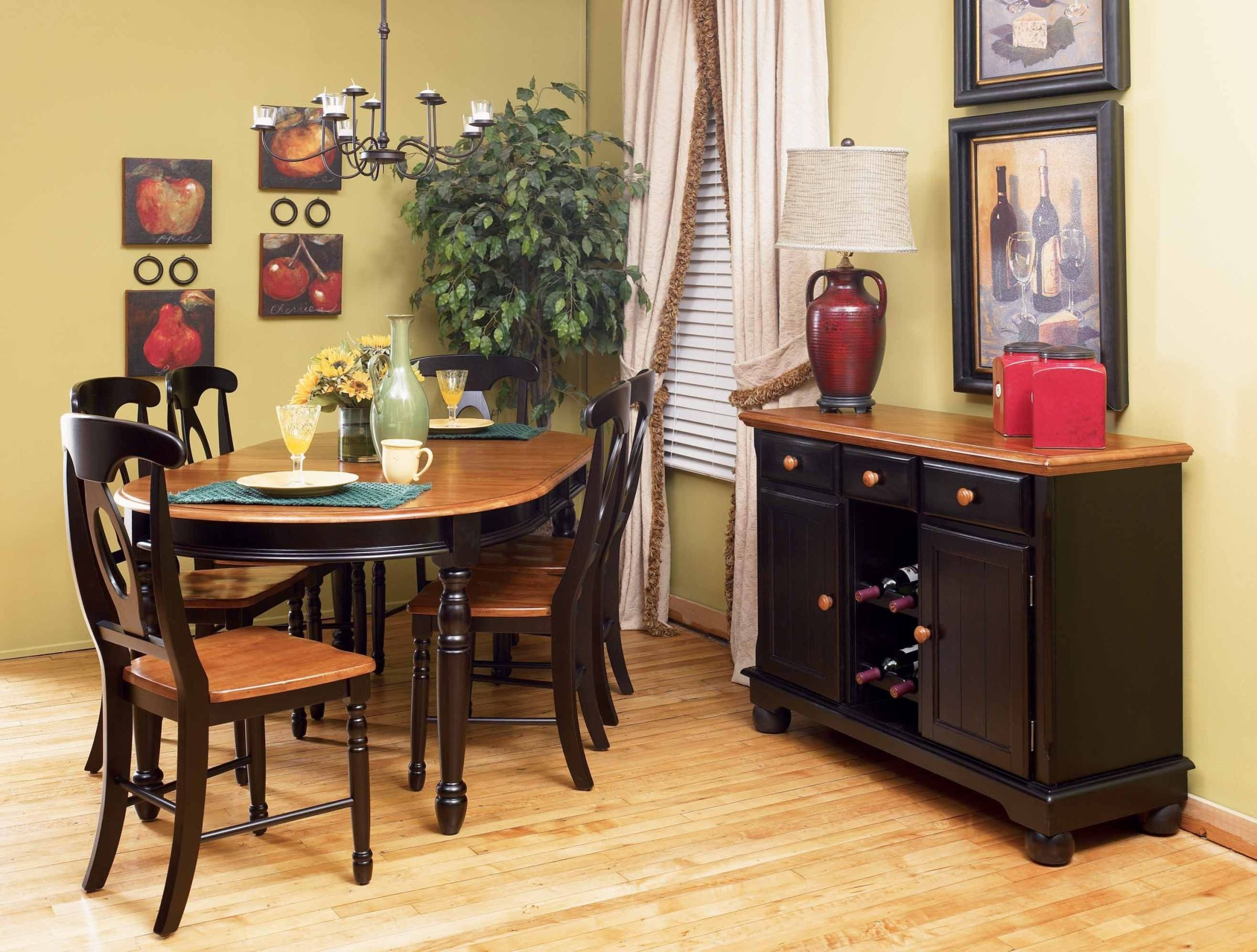 British Isles 76 Quot Honey Espresso Extendable Oval Dining