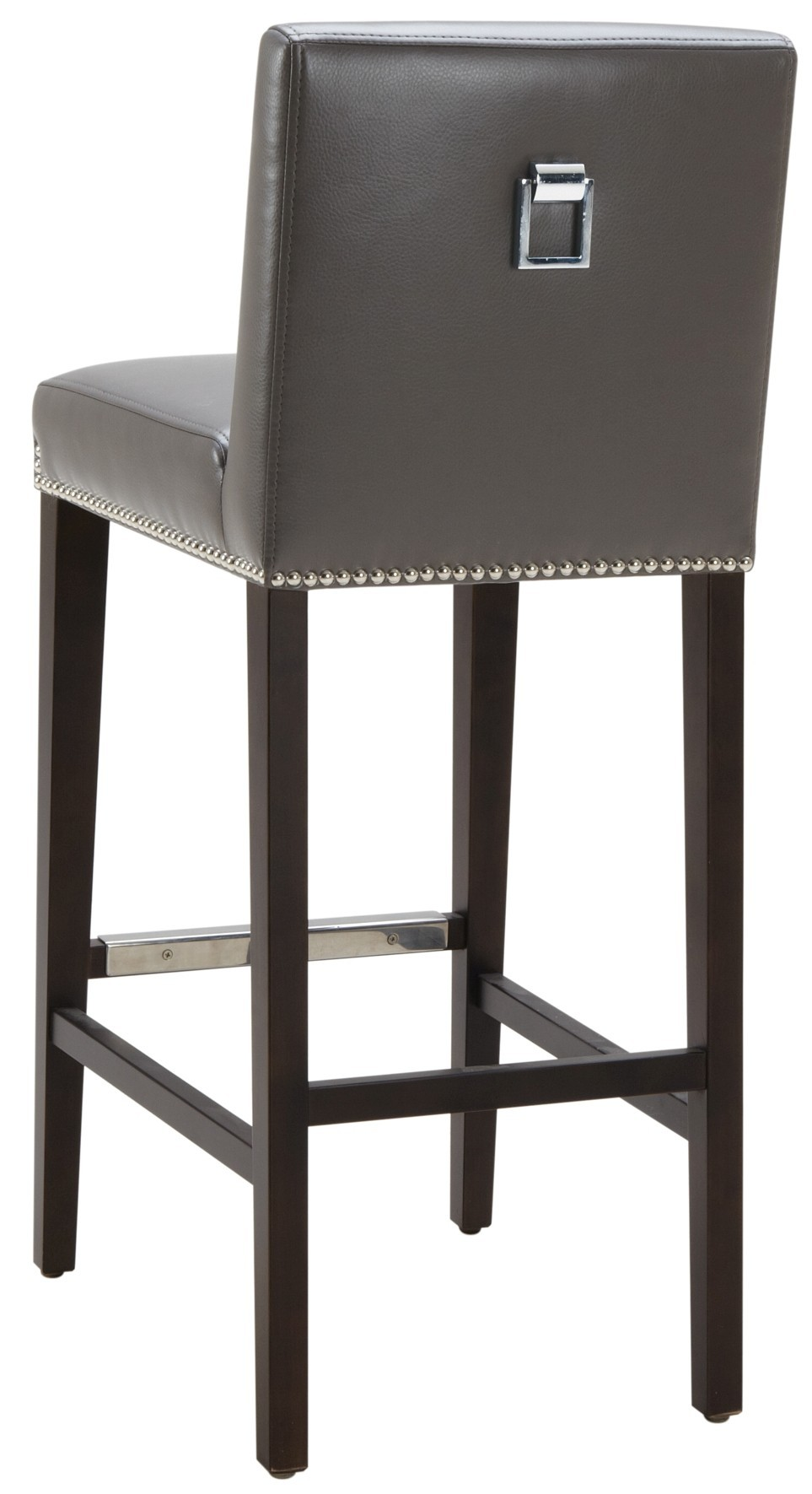 Brooke Grey Barstool From Sunpan 48408 Coleman Furniture