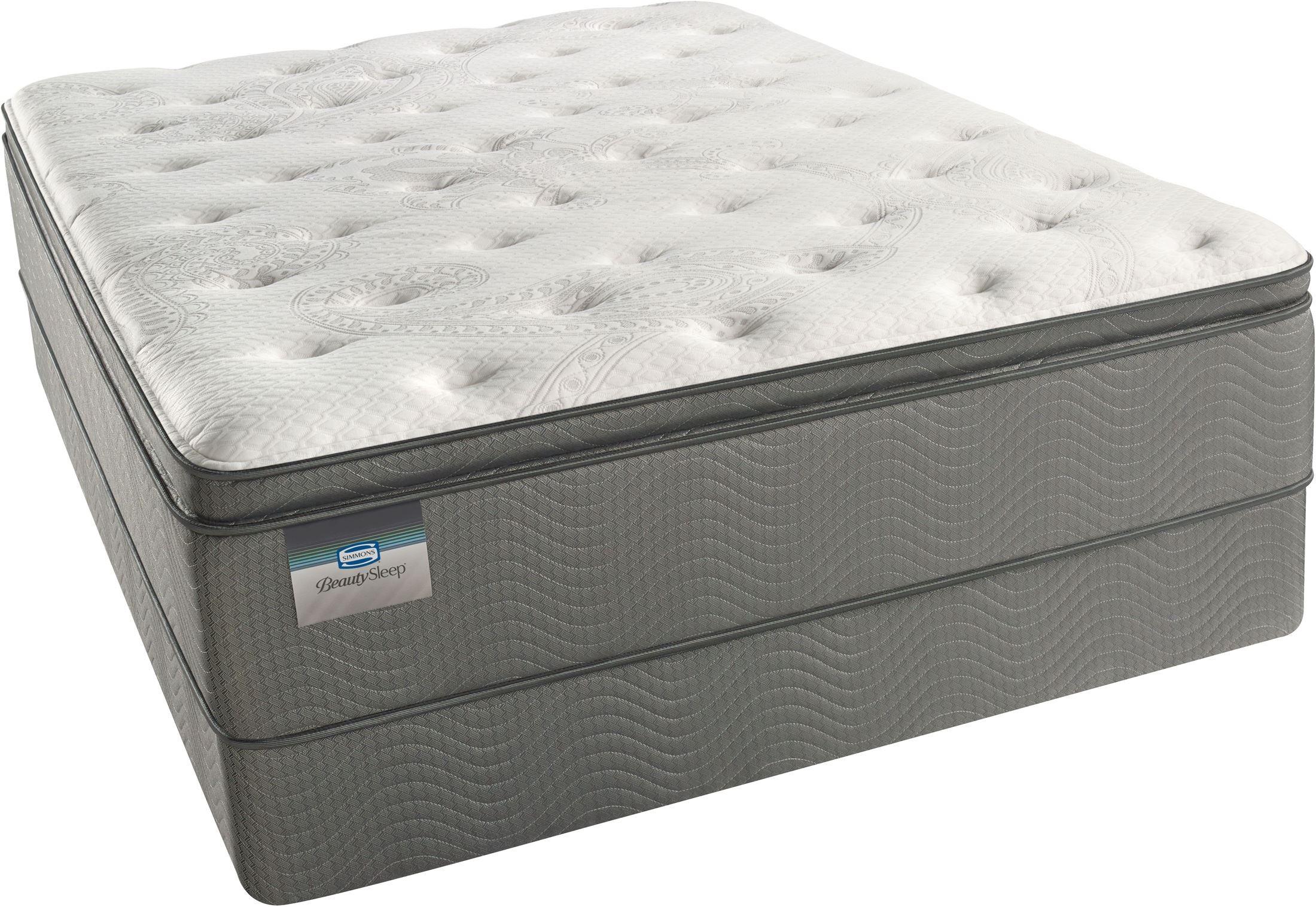 Beautysleep Allegra Pillow Top Plush King Size Mattress From Simmons