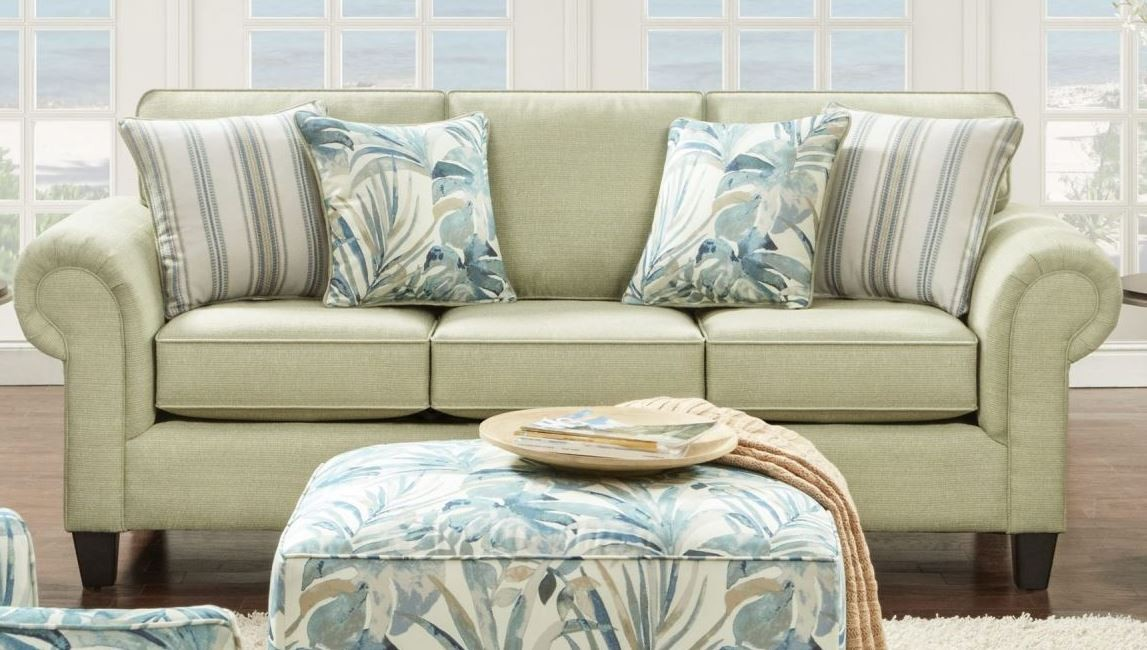 Vibrant Pear Sofa Sleeper From Southern Motion Coleman