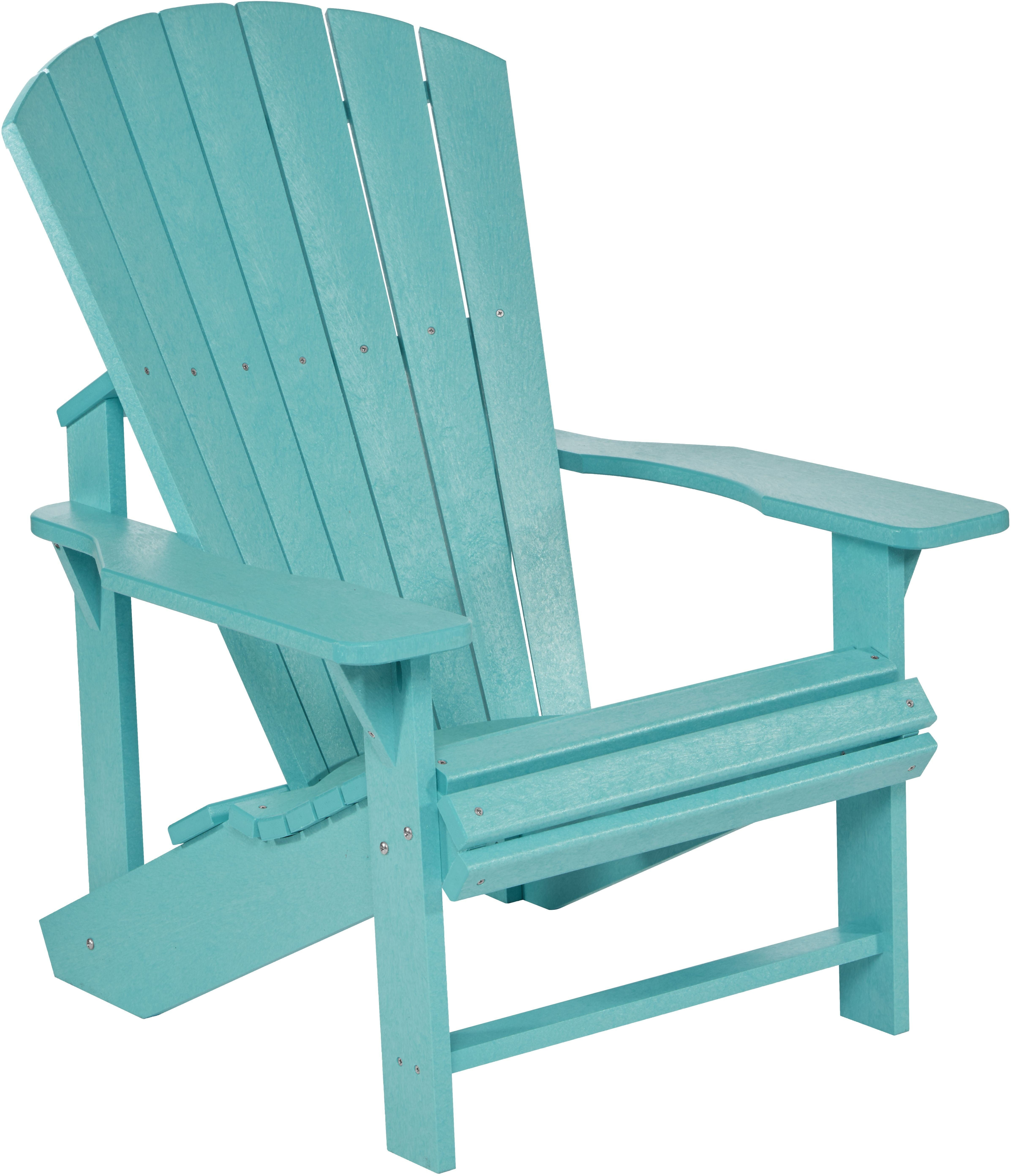 Generation Turquoise Adirondack Chair From CR Plastic | Coleman Furniture