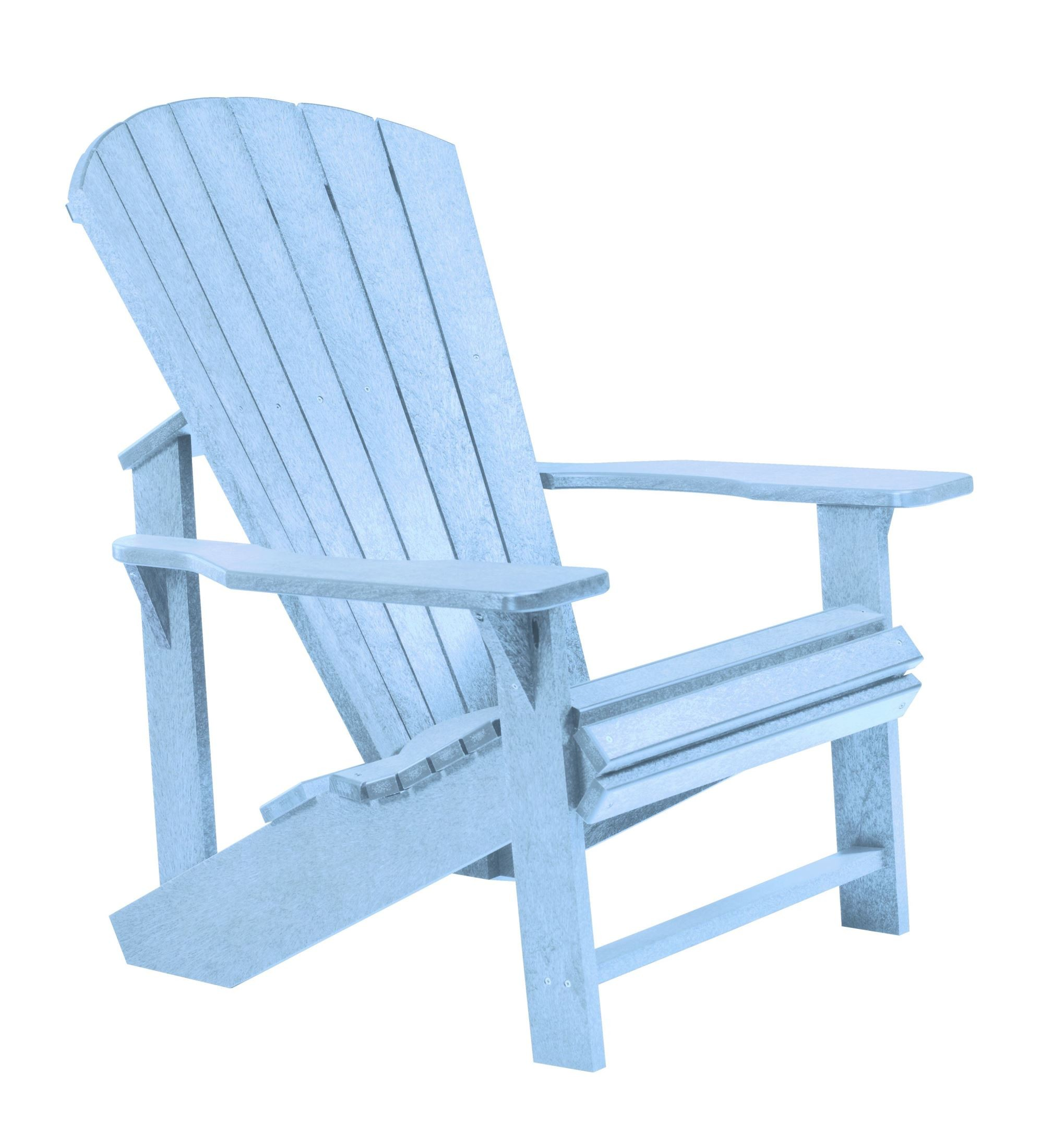 Generations Sky Blue Adirondack Chair From Cr Plastic C01