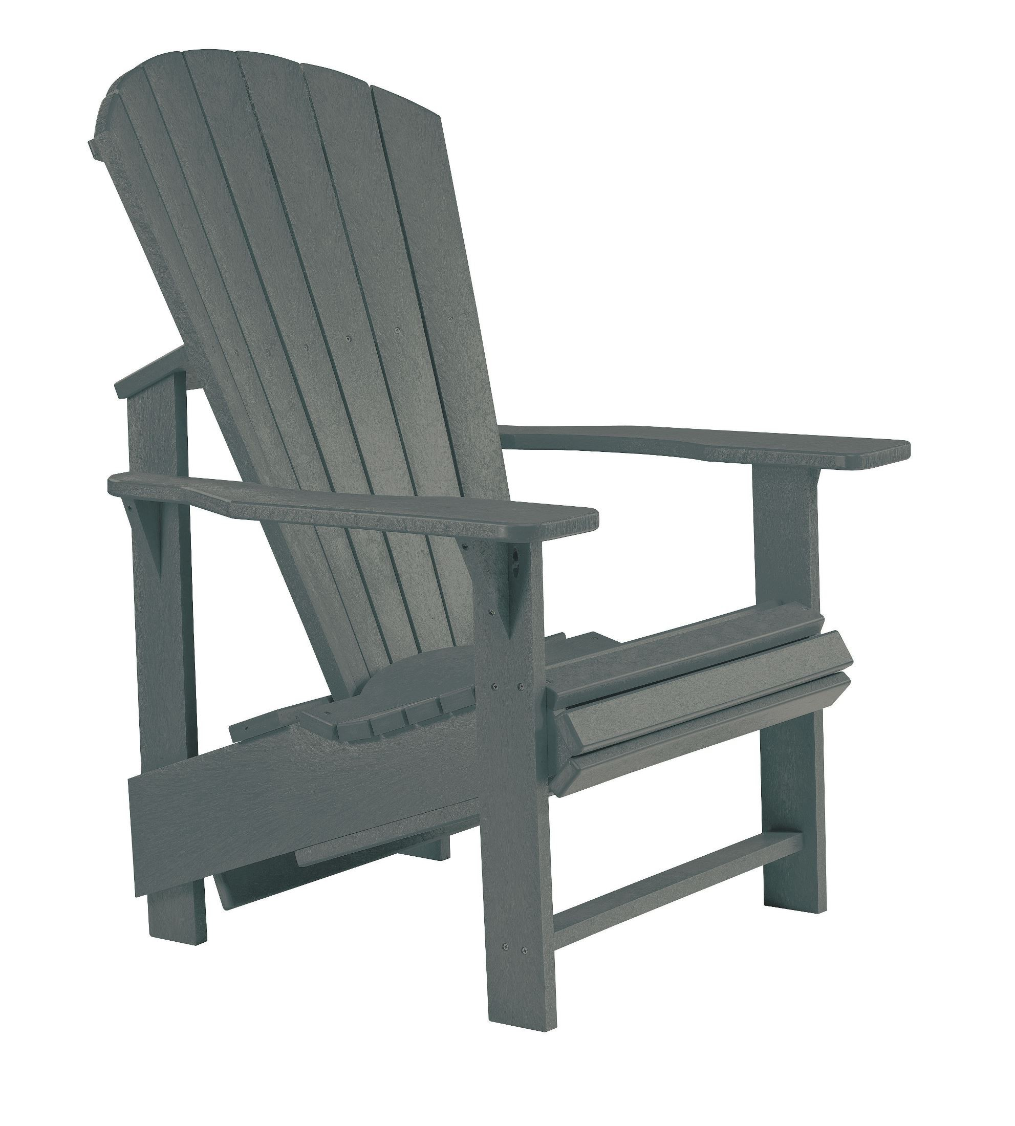 Generations Slate Upright Adirondack Chair From Cr Plastic C03 18 Coleman Furniture