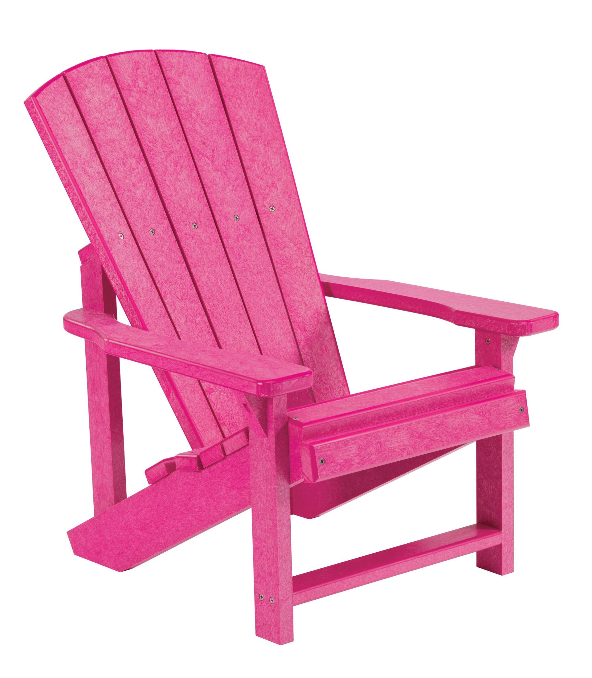 Generations Fuschia Kids Adirondack Chair From Cr Plastic