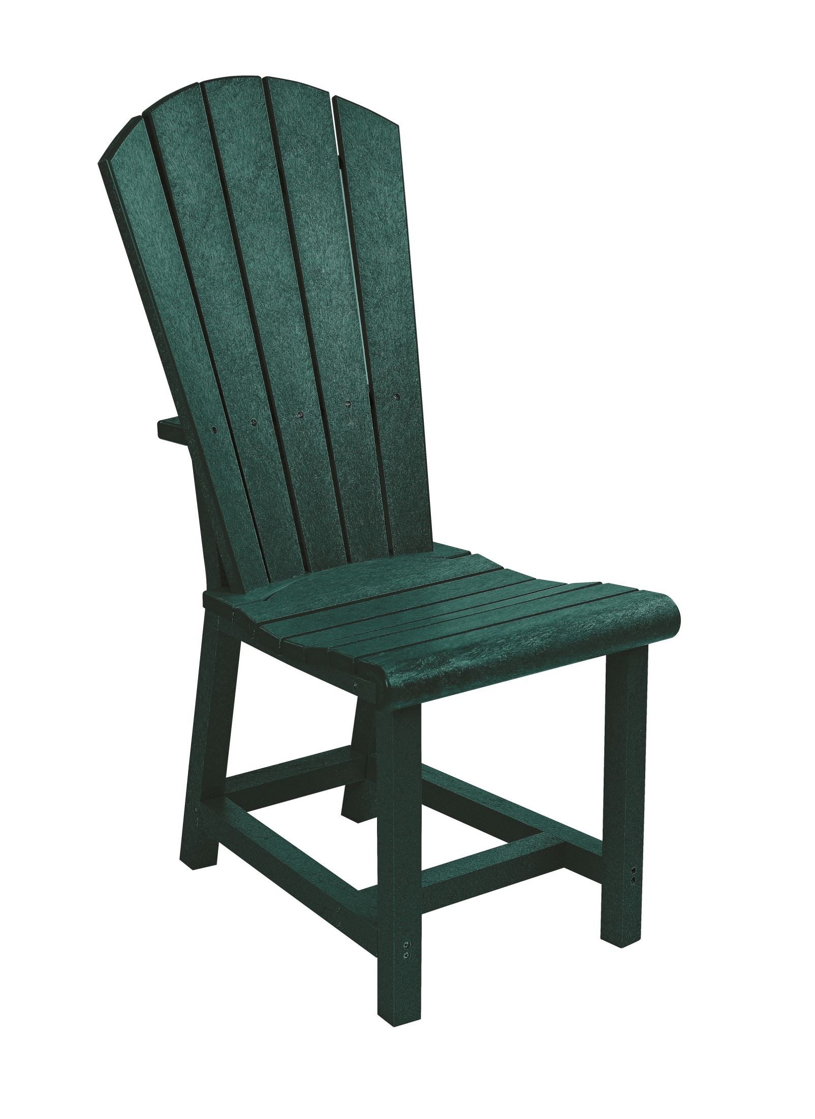 generations green adirondack dining side chair from cr plastic c11 06 coleman furniture. Black Bedroom Furniture Sets. Home Design Ideas