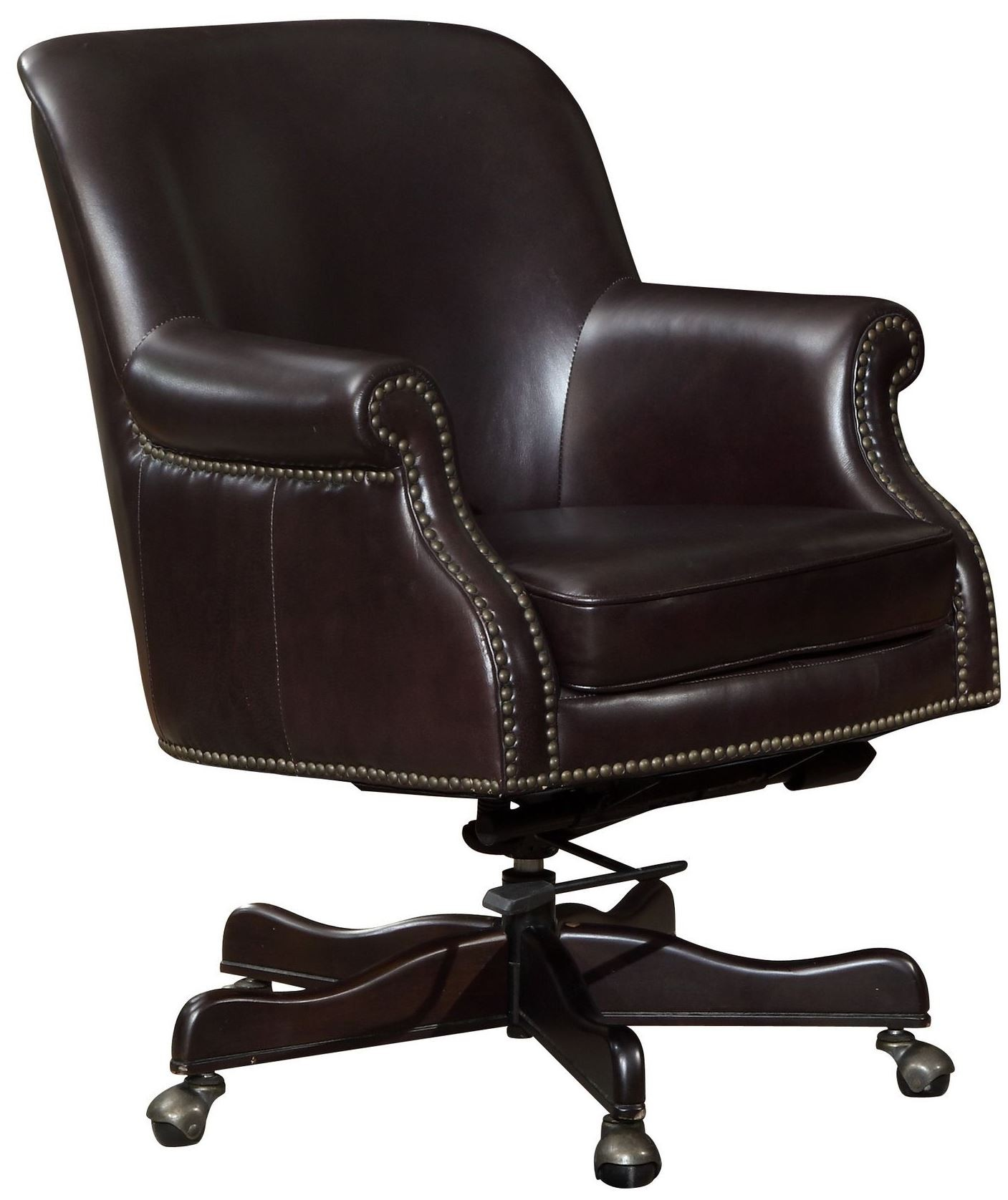 Brick Office Furniture ~ Sullivan brick leather office chair from lazzaro wh c