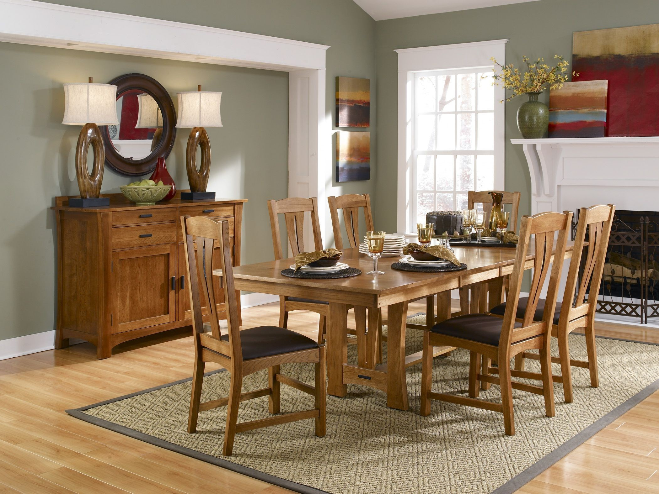 cattail bungalow 96 warm amber extendable trestle dining table from a america coleman furniture. Black Bedroom Furniture Sets. Home Design Ideas