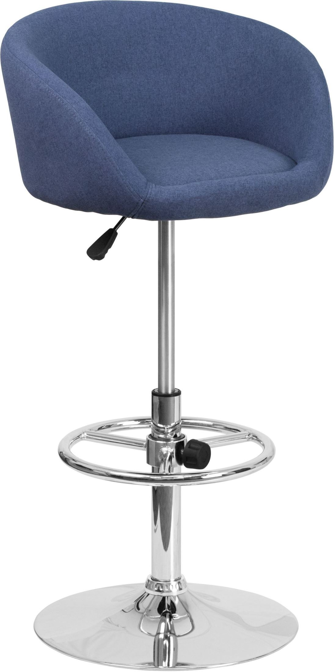 Contemporary Blue Fabric Adjustable Height Bar Stool Min  : ch tc3 1066l blfab gg from colemanfurniture.com size 1097 x 2200 jpeg 227kB