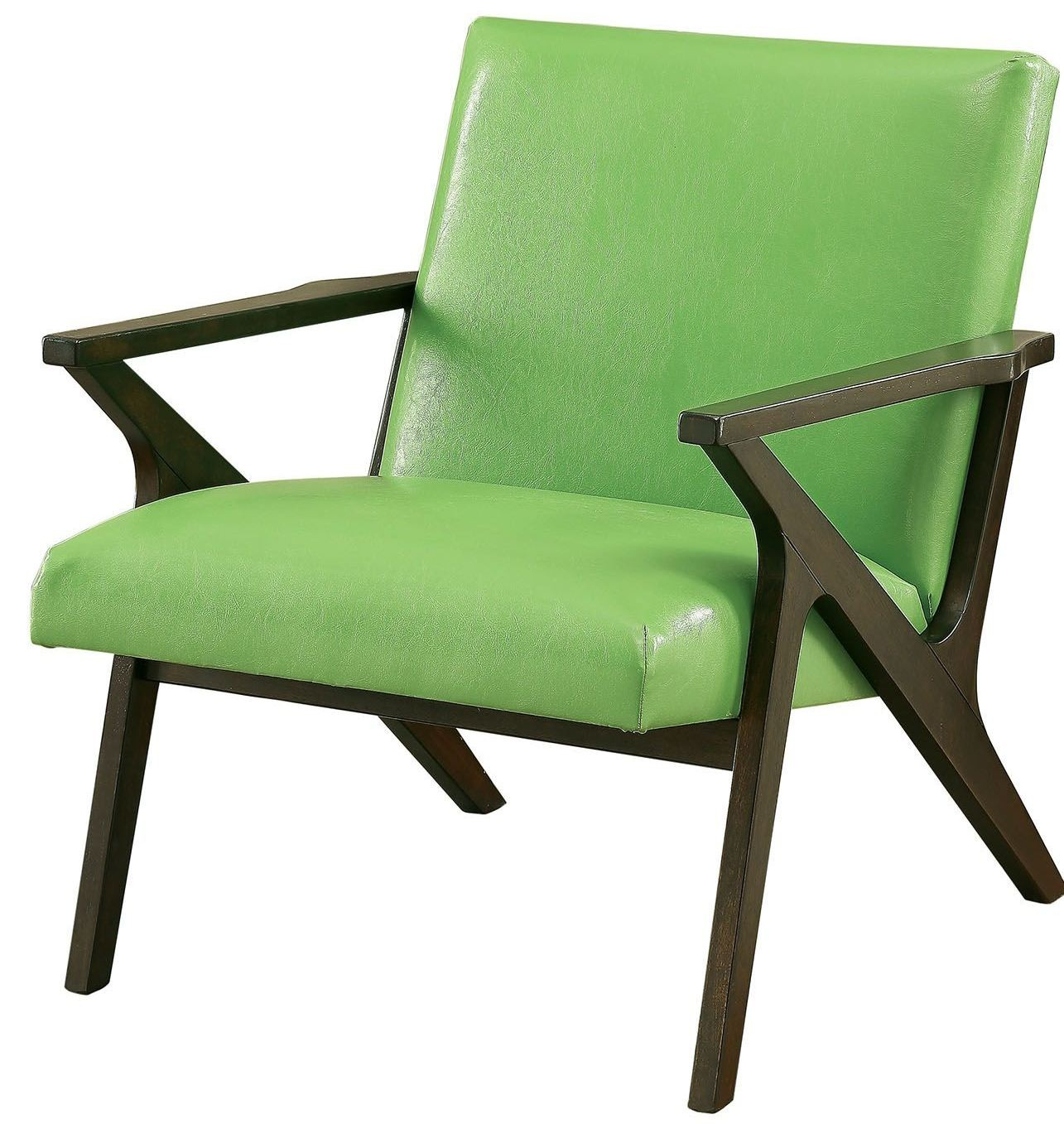 Margaux Green Accent Chair From Furniture Of America