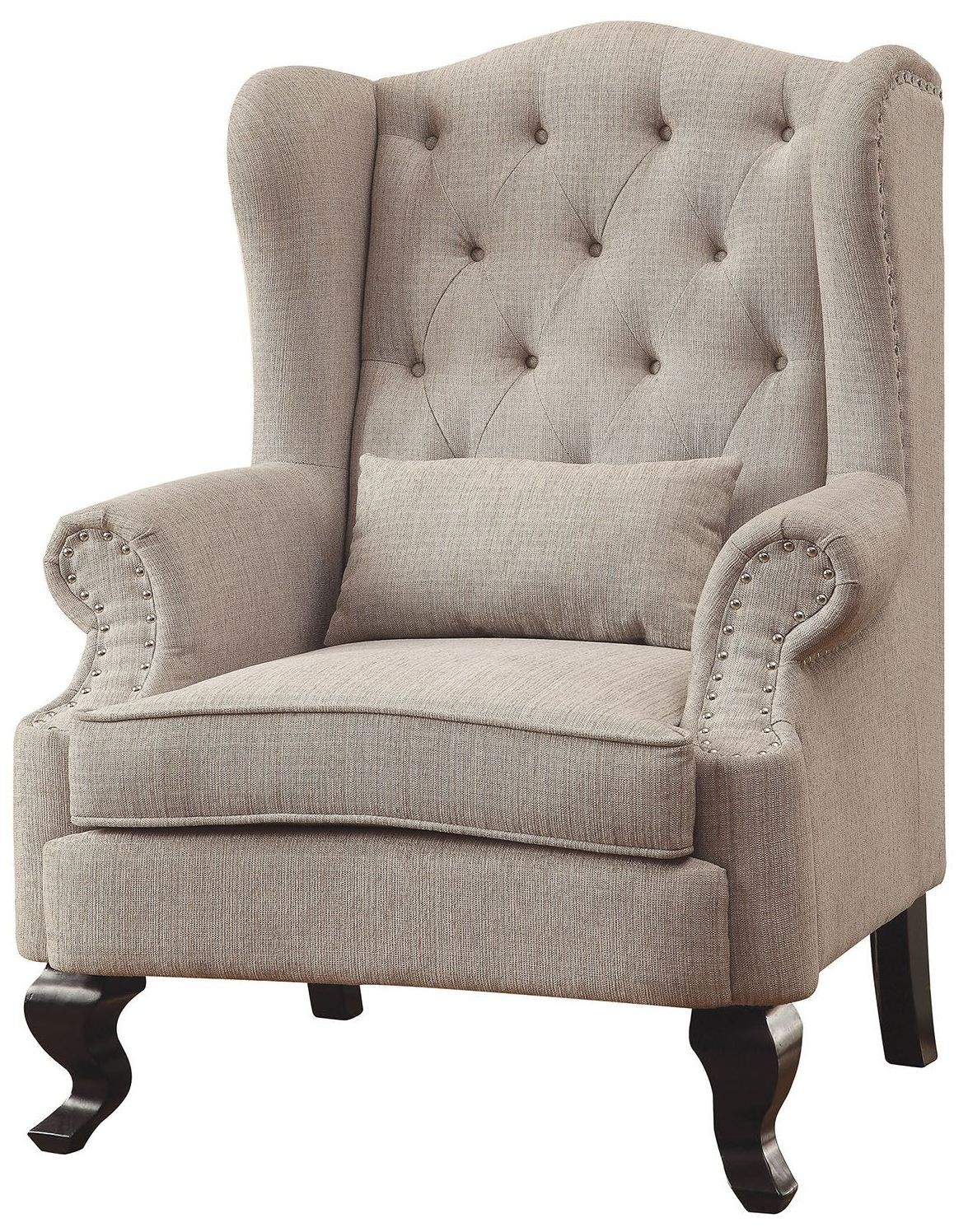 Simple Beige Accent Chair Ideas