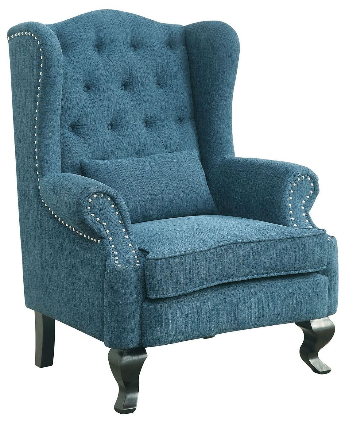 Willow Teal Accent Chair From Furniture Of America