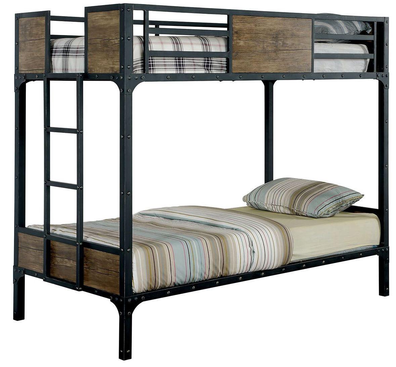 Furniture Of America Twin Bunk Bed