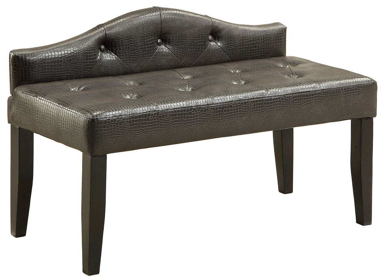 Calpas Iii Brown Small Bench From Furniture Of America Coleman Furniture