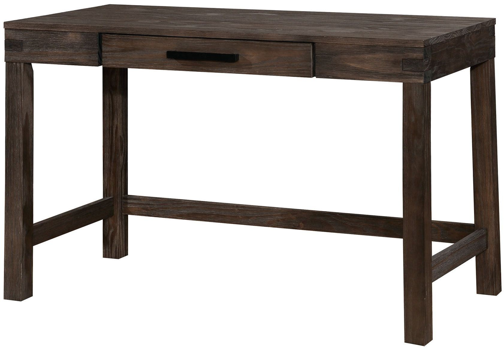 Kellis Dark Gray Writing Desk From Furniture Of America
