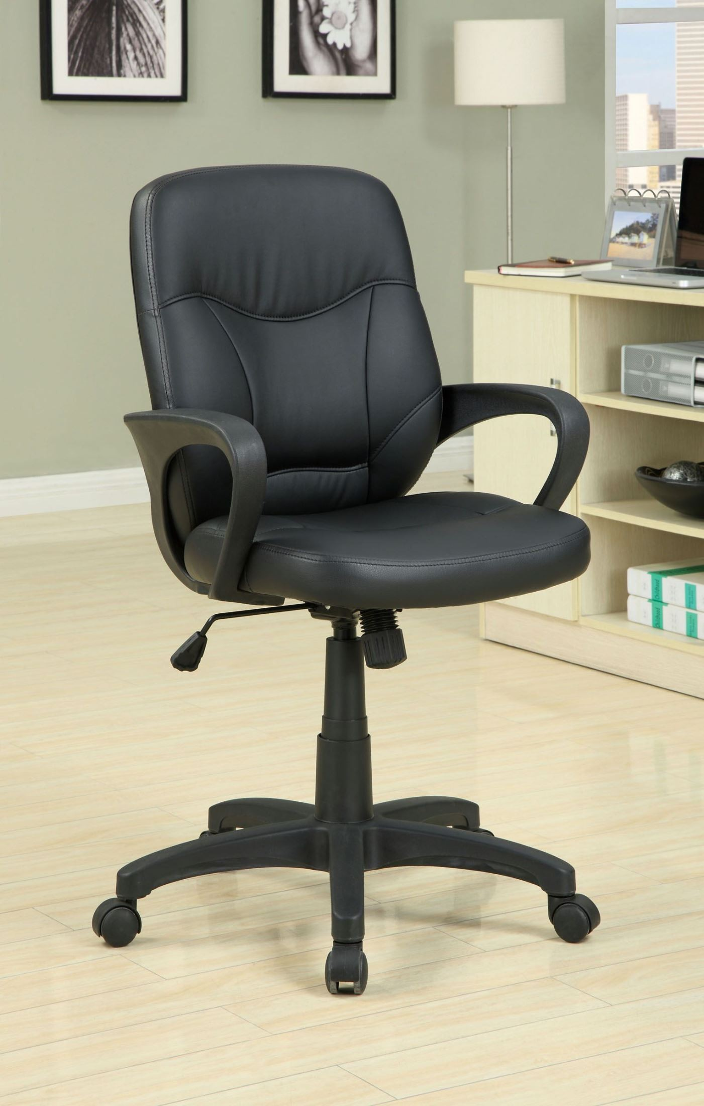 Stratford Adjustable Height Office Chair From Furniture Of America CM FC602