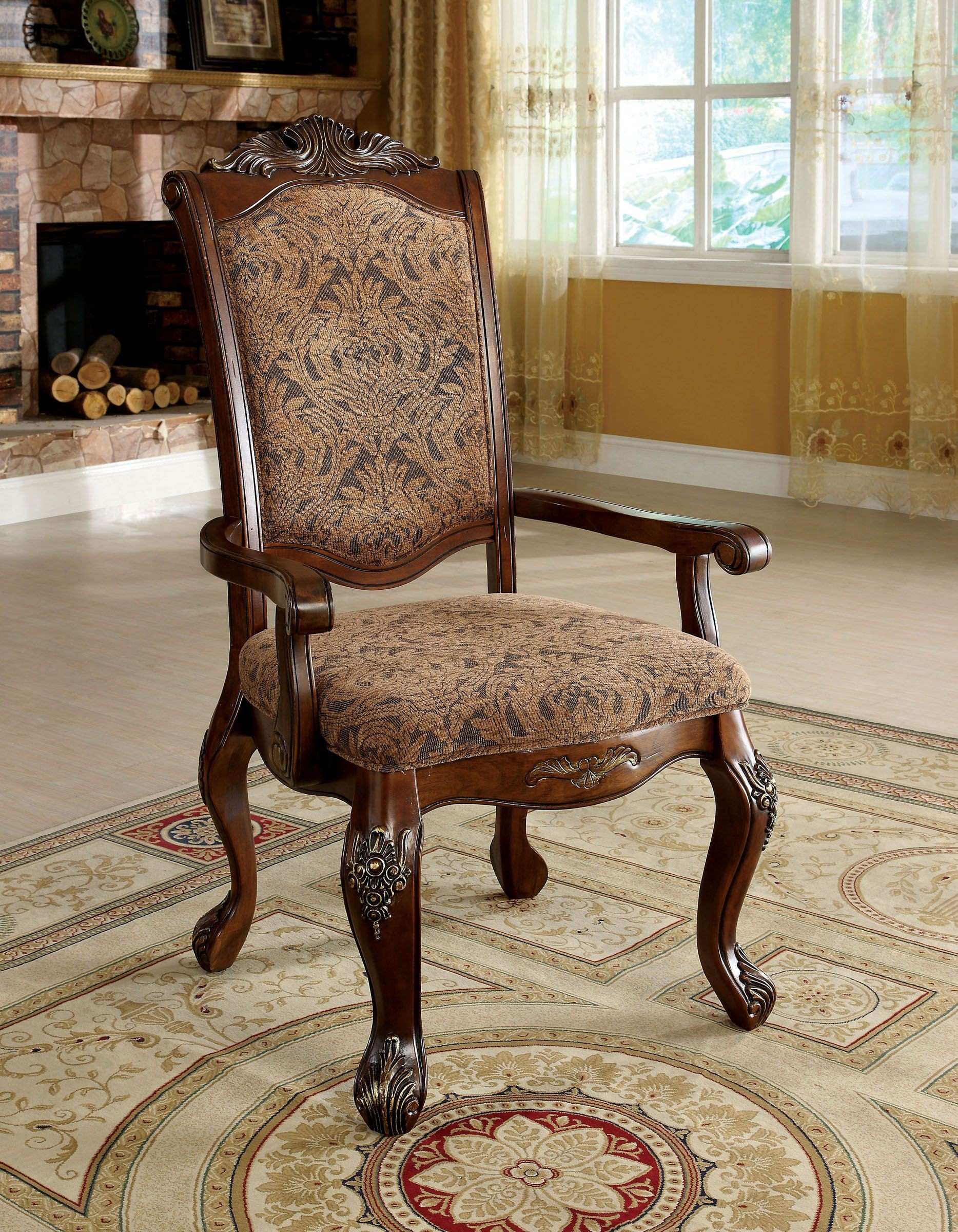 Cromwell Antique Cherry Formal Dining Room Set From