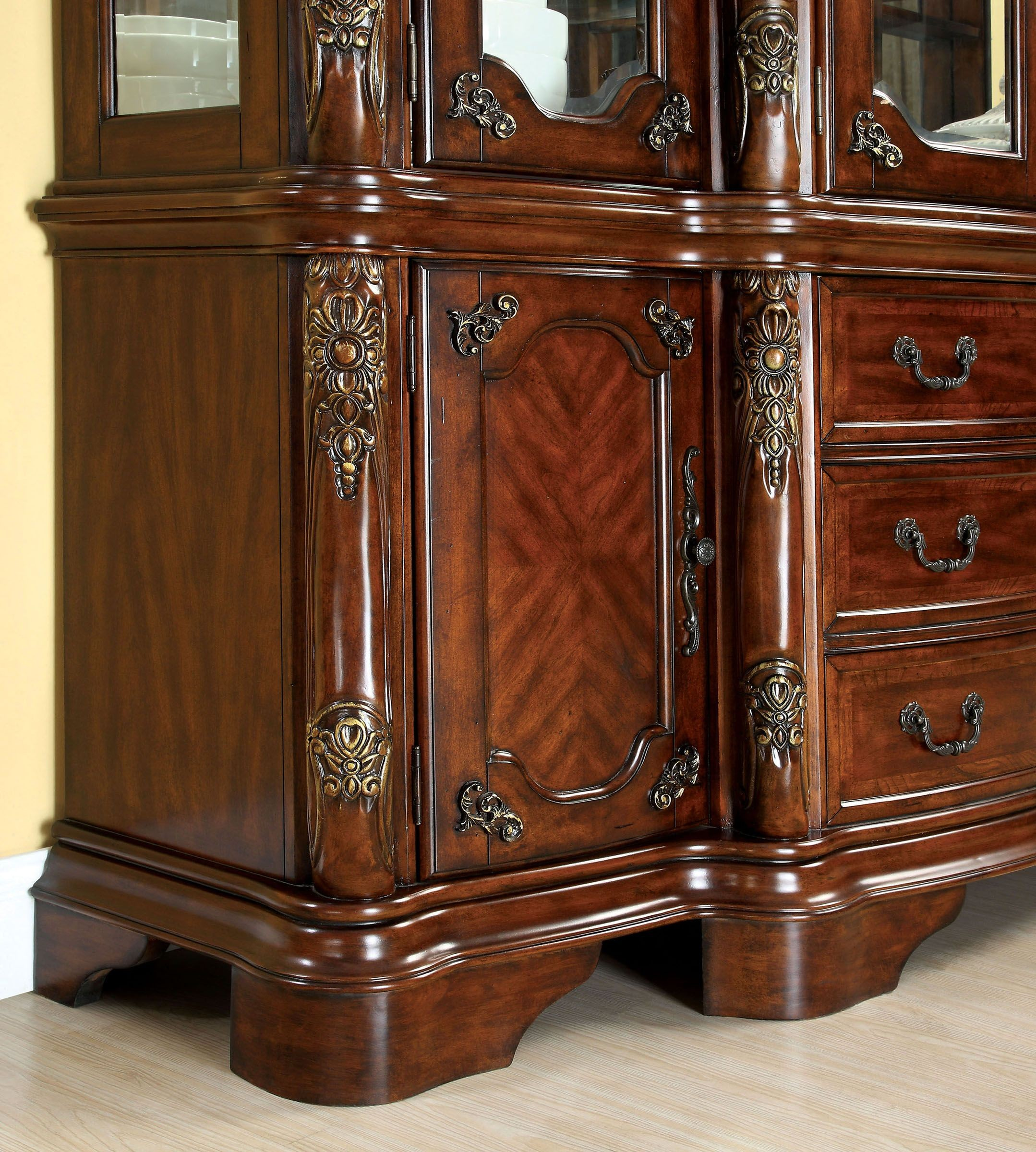 Cherry Dining Room Furniture: Cromwell Antique Cherry Formal Dining Room Set From
