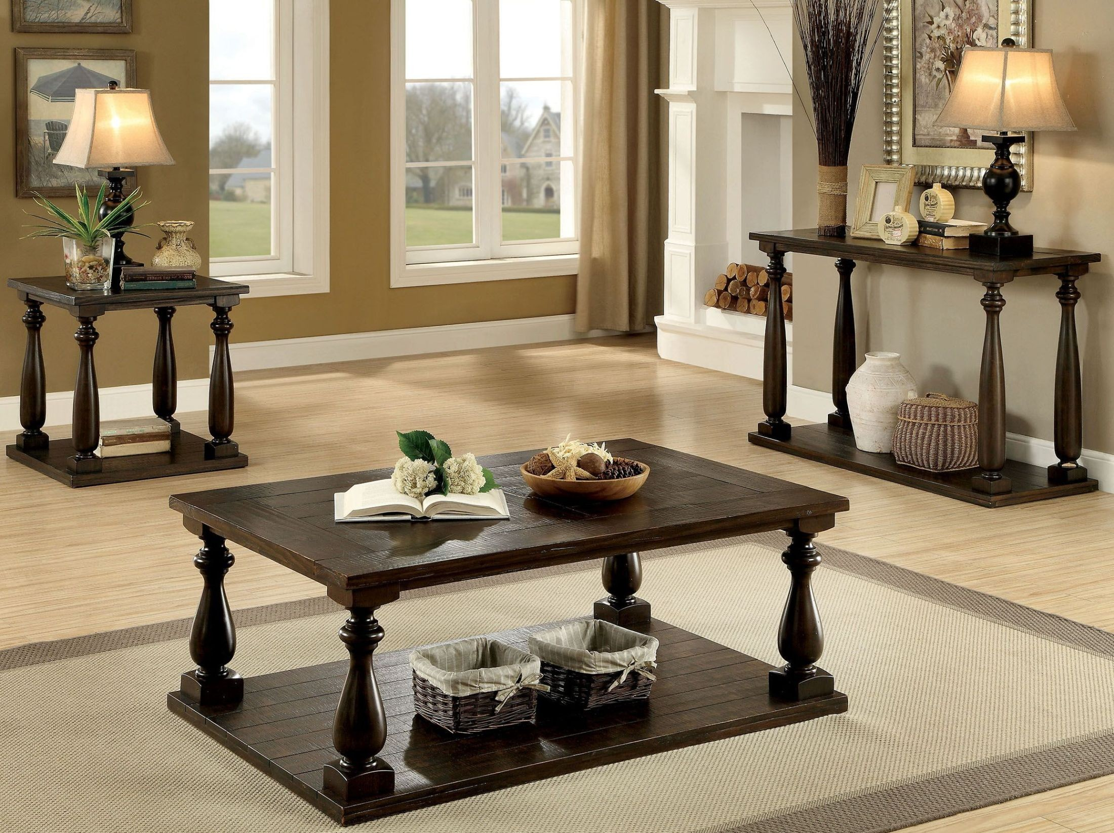 Muebles Luan Arbo - Luan Dark Walnut Occasional Table Set From Furniture Of America [mjhdah]https://s-media-cache-ak0.pinimg.com/originals/be/56/9c/be569cd15921acb12caaeb592c8dacd5.jpg