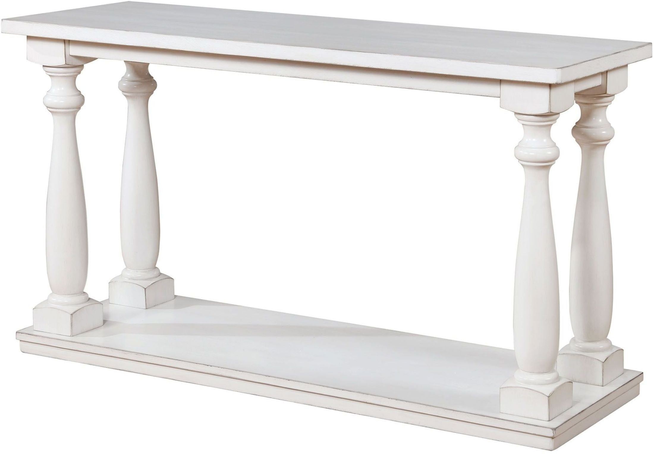 antique white sofa table. Tammie Antique White Sofa Table From Furniture Of America | Coleman  Antique White Sofa Table