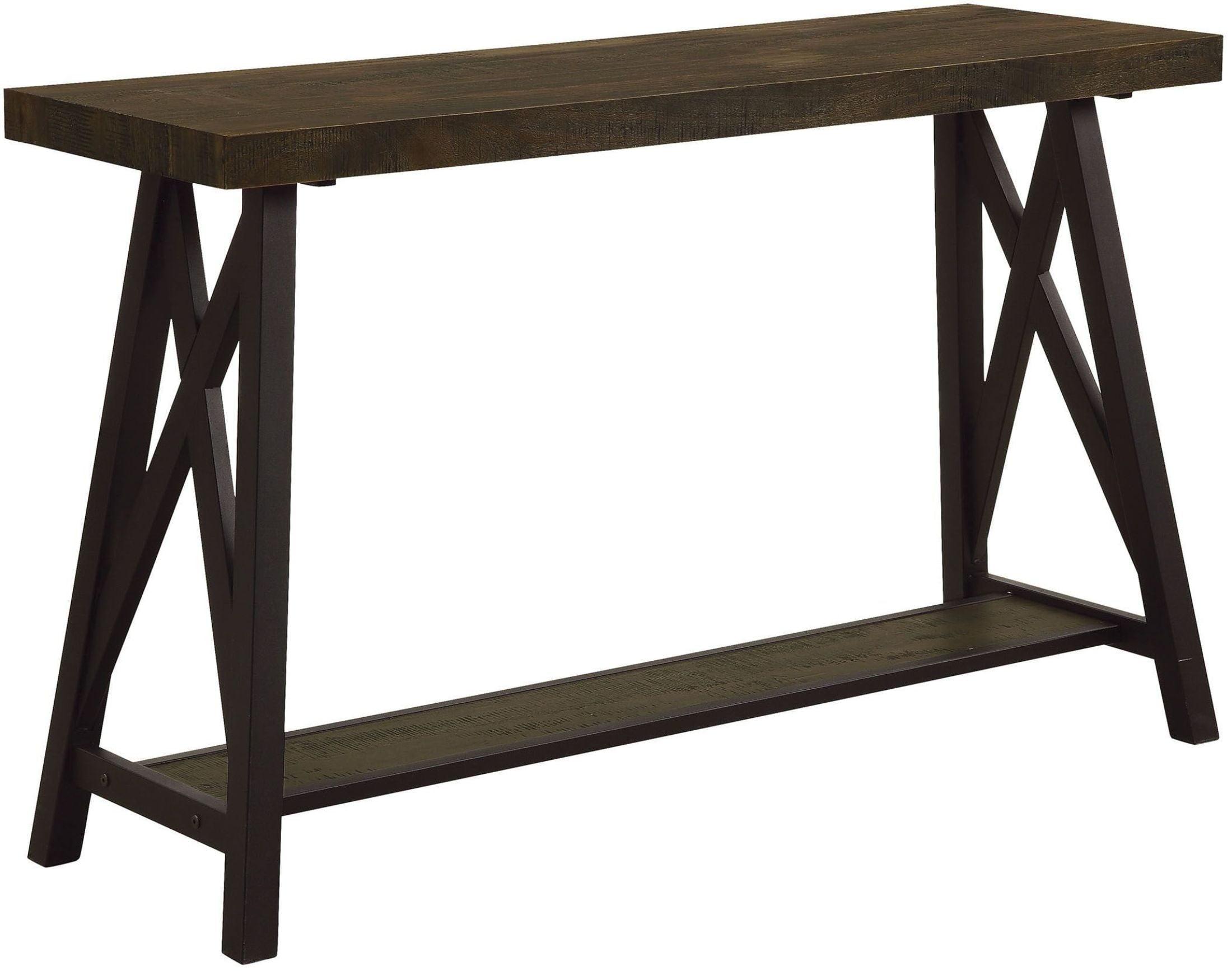 Tagan medium oak sofa table from furniture of america coleman tagan medium oak sofa table from furniture of america coleman furniture watchthetrailerfo