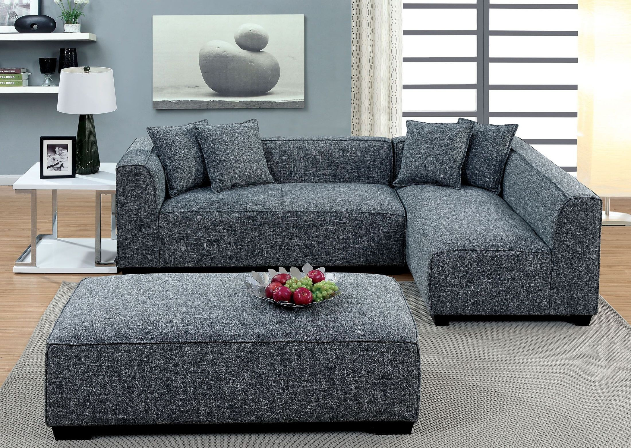 Jaylene Gray Sectional from Furniture of America
