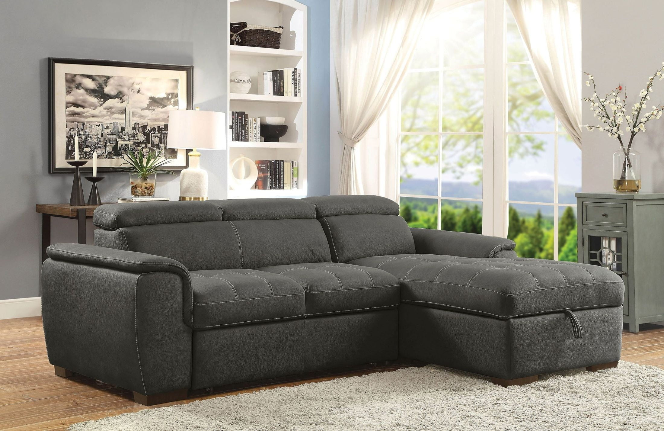 Patty graphite sectional 2505474