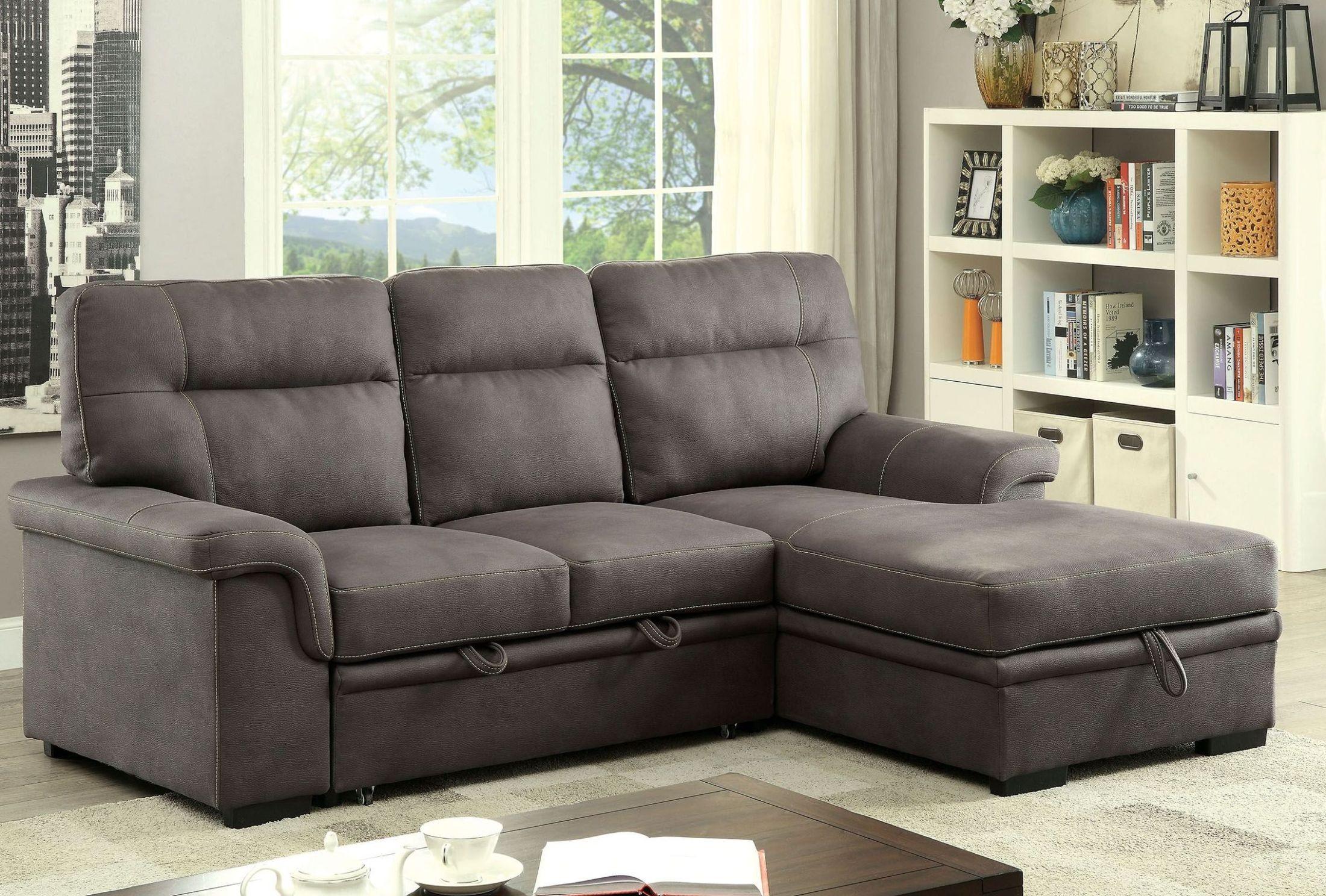 beautiful furniture of america lawrence sectional sofa sleep