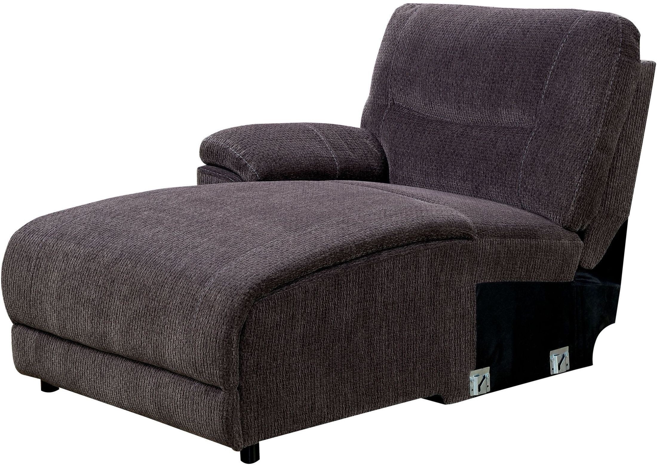 Karlee II Gray Reclining Sectional With Console from Furniture of