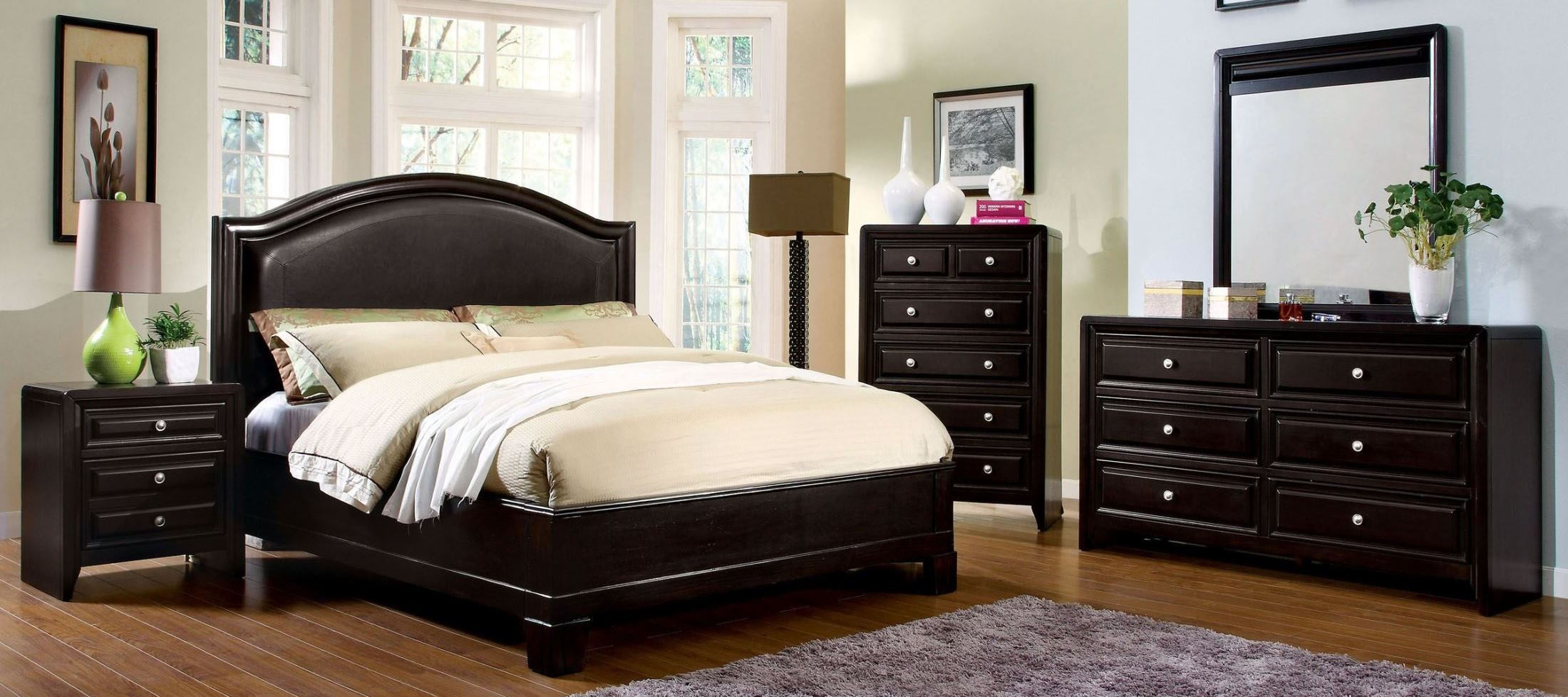 espresso bedroom set winsor espresso platform bedroom set from furniture of 11513