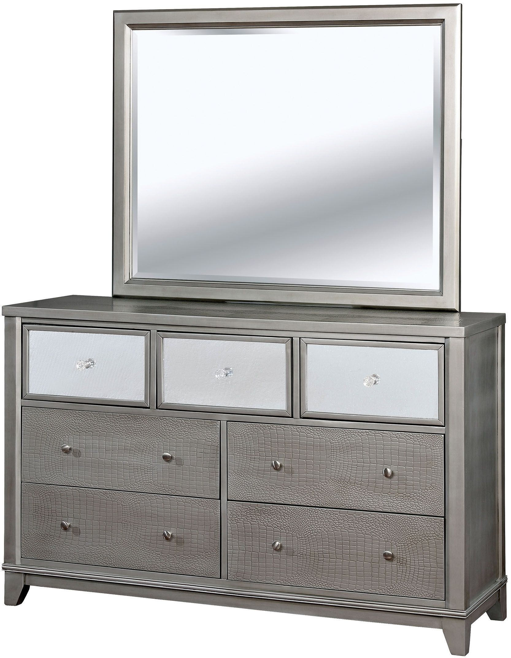 Bryant II Silver Dresser from Furniture of America