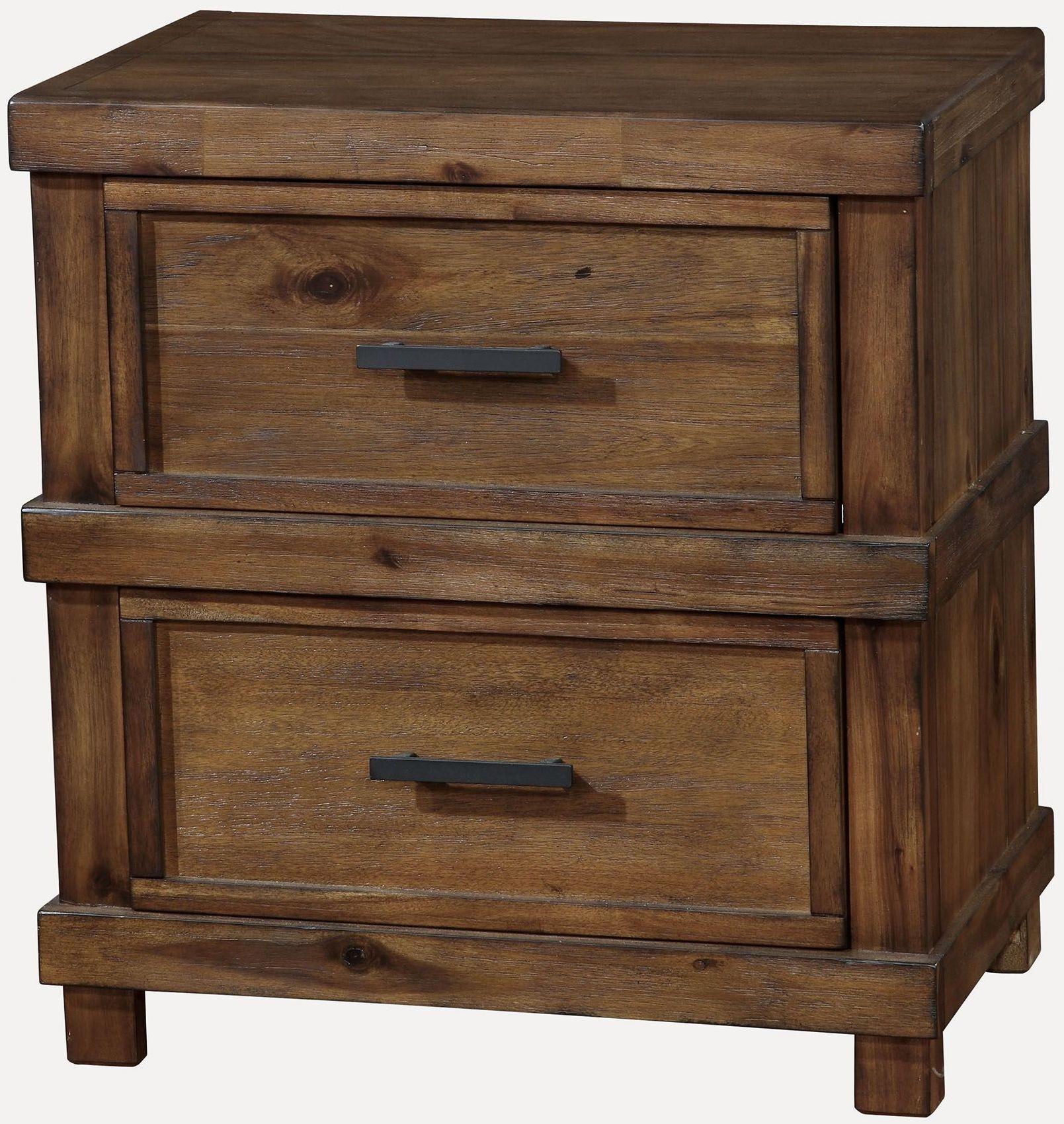 Baddock Antique Oak Panel Bedroom Set, CM7691Q, Furniture