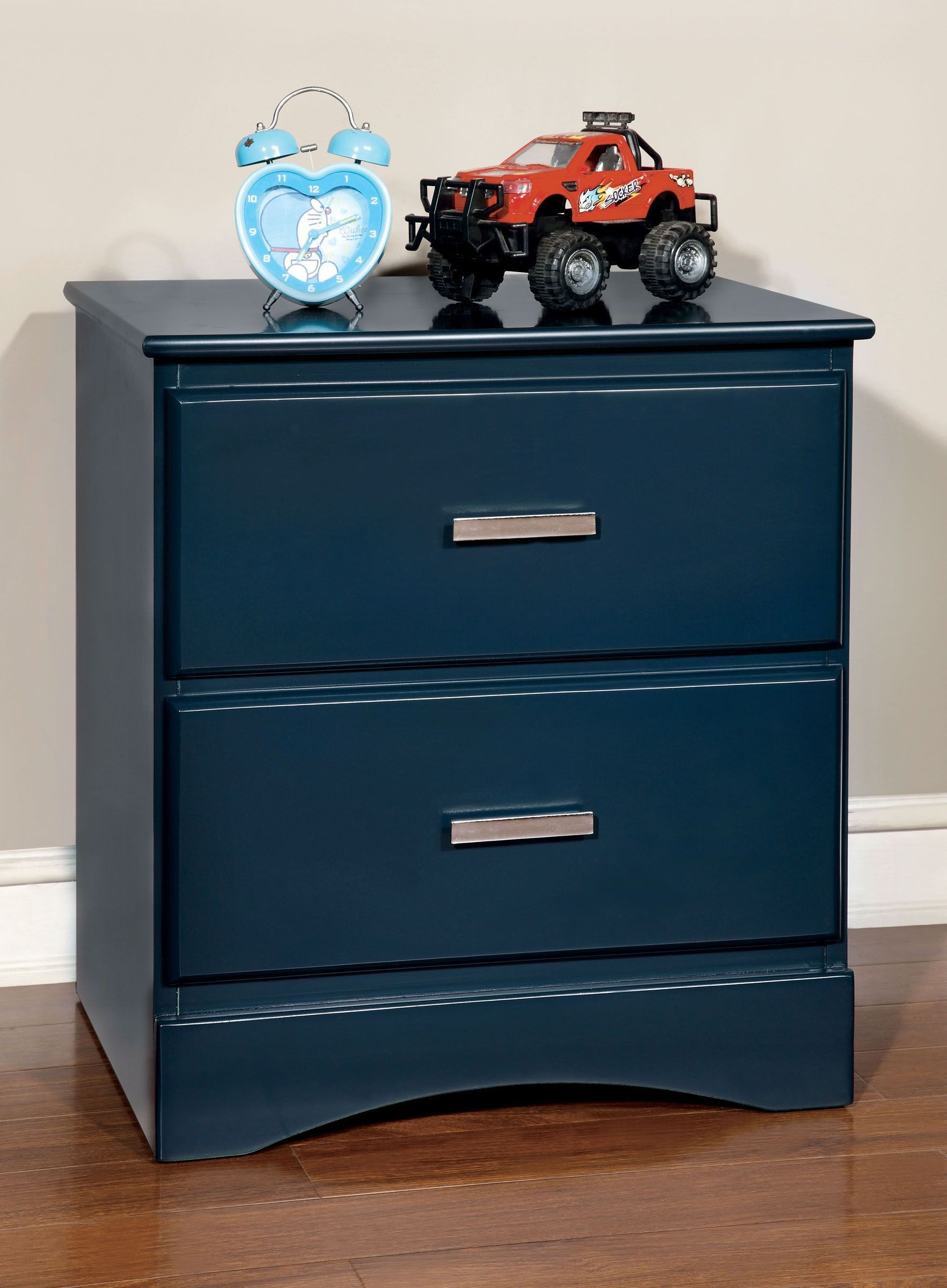 Prismo Blue Youth Platform Bedroom Set From Furniture Of