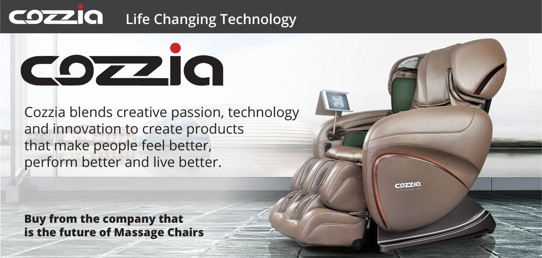 black massage chair - Cozzia Massage Chair