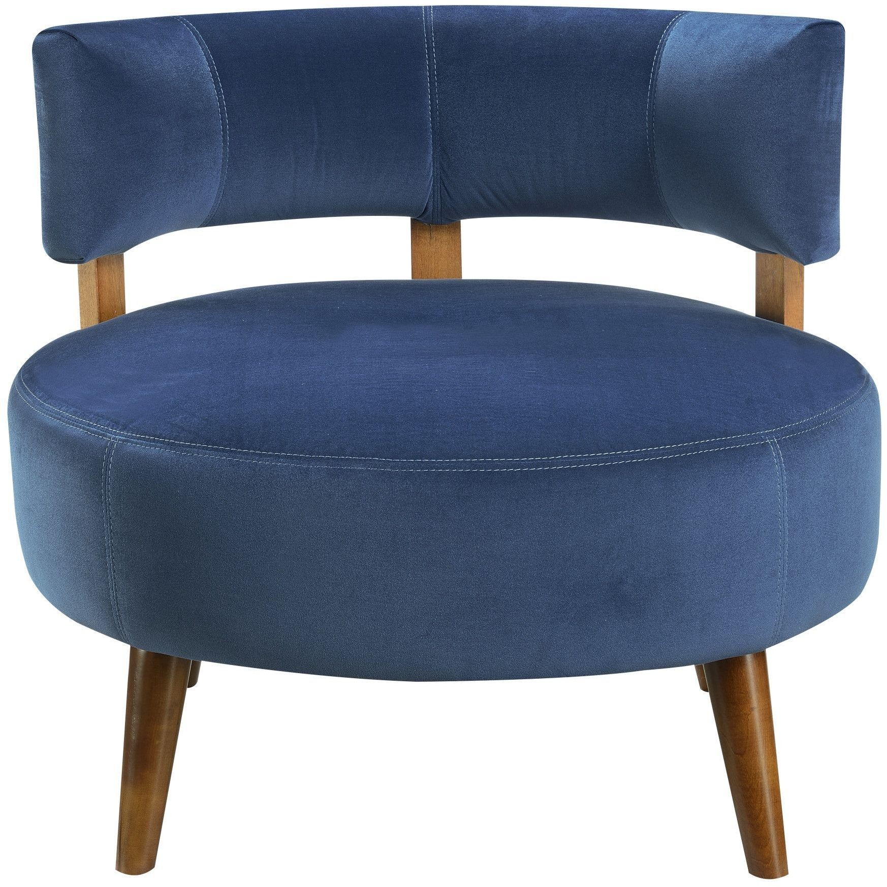 Sphere Teal Accent Chair from Emerald Home