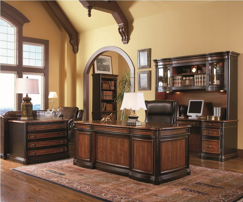Pergola Grand Style Executive Home Office Set   80050