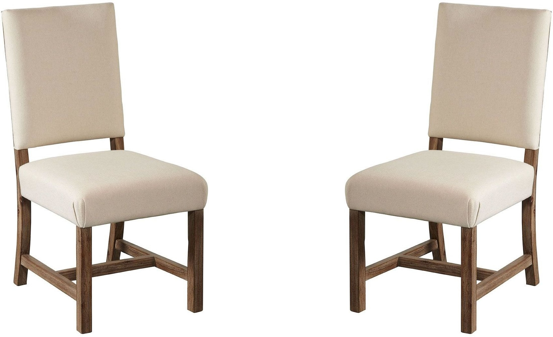 Dark Beach Upholstered Dining Chair Set Of 2 From Avalon